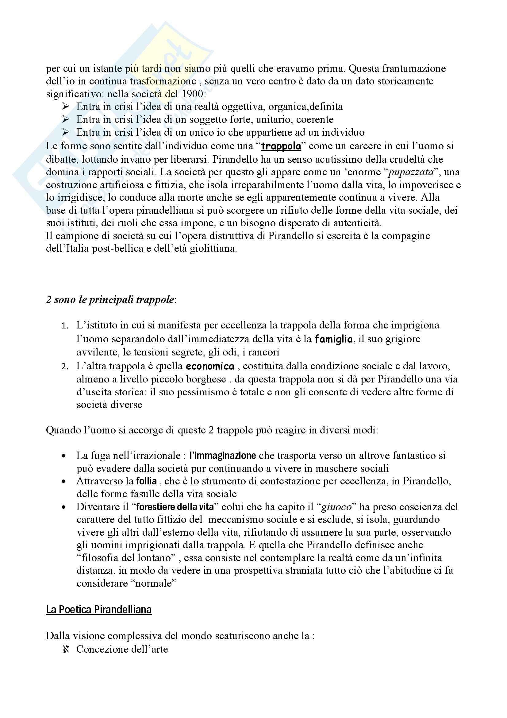Riassunto esame Letteratura, libro adottato Letteratura, storia, immaginario, Luperini Pag. 21