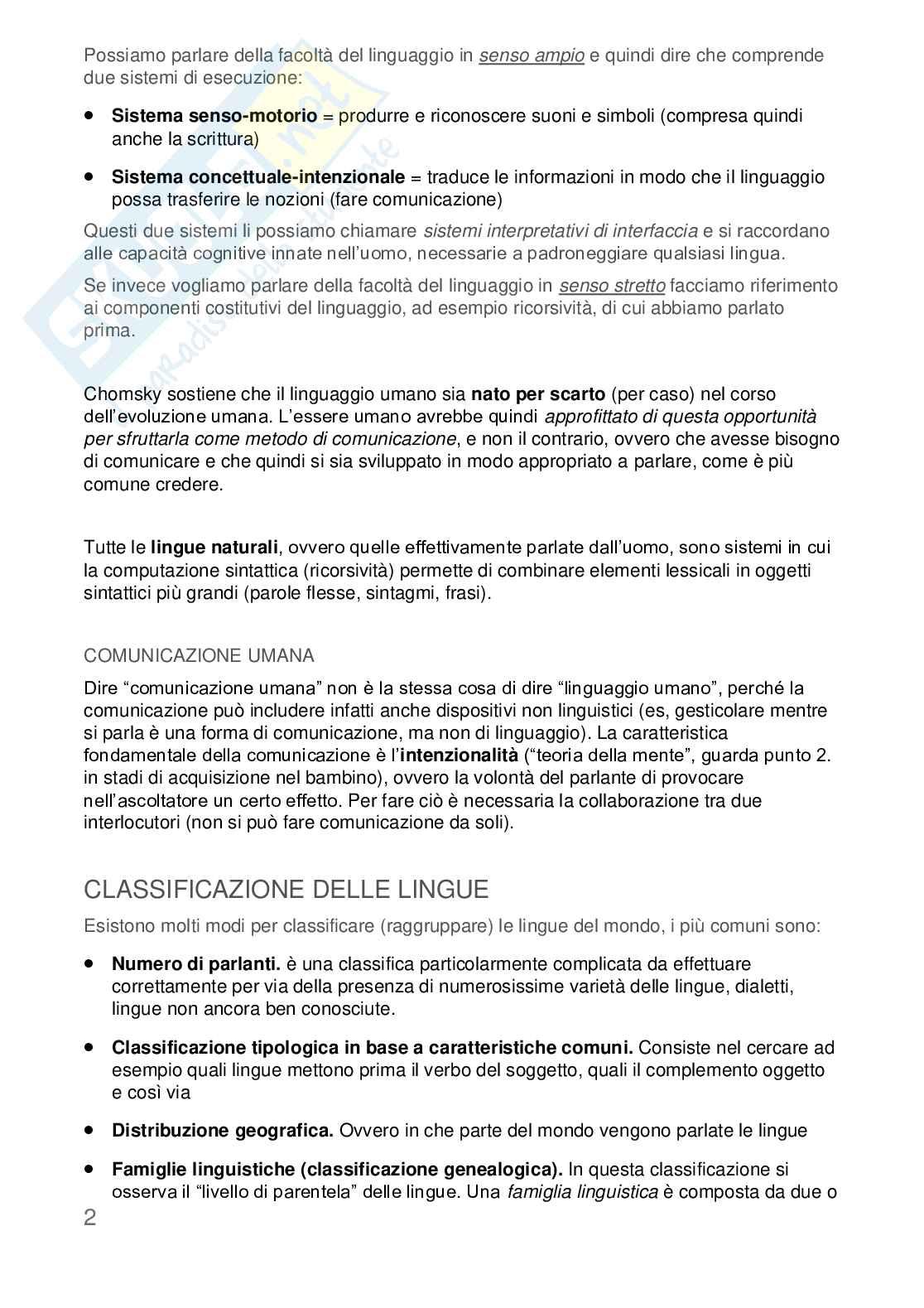 Appunti Linguistica Generale Pag. 2