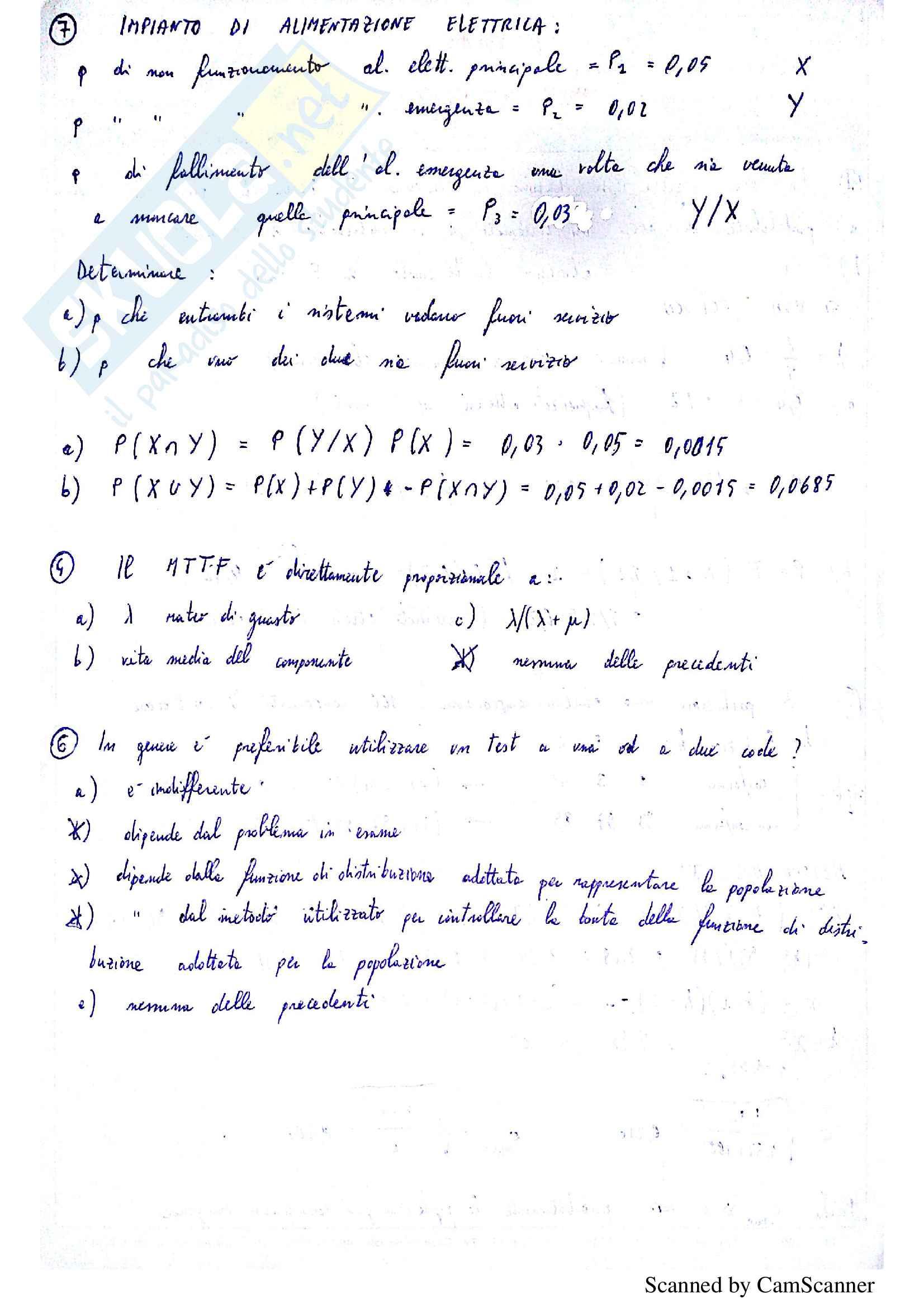 Risoluzione alcuni esercizi d'esame di Sicurezza, prof Orlandelli Pag. 16