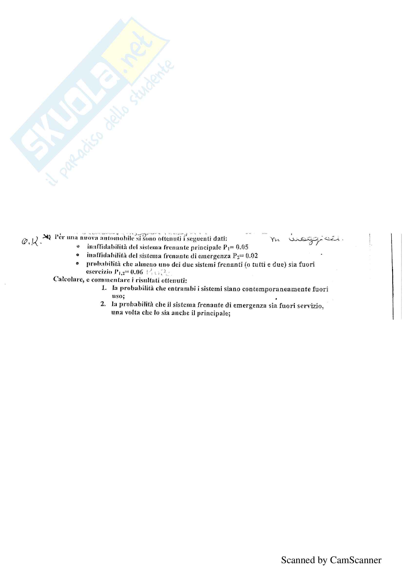 Risoluzione alcuni esercizi d'esame di Sicurezza, prof Orlandelli Pag. 21