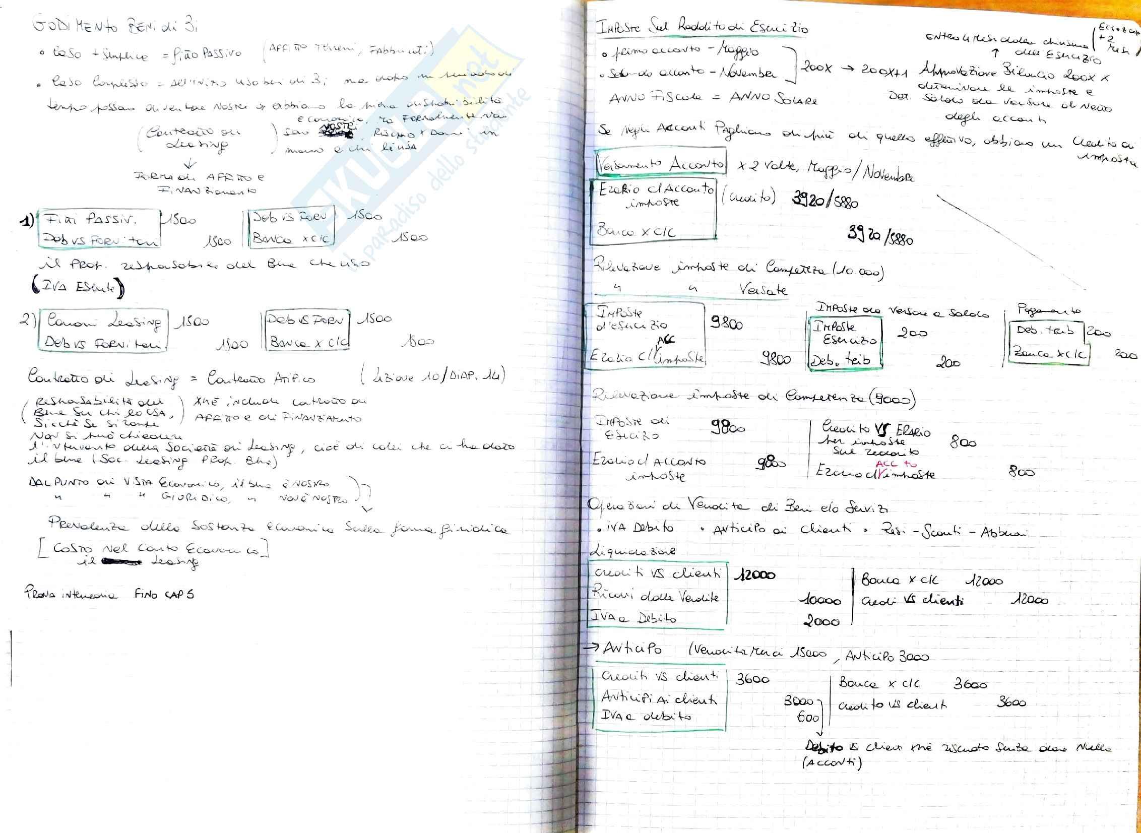 Contabilità appunti e esercizi Pag. 31