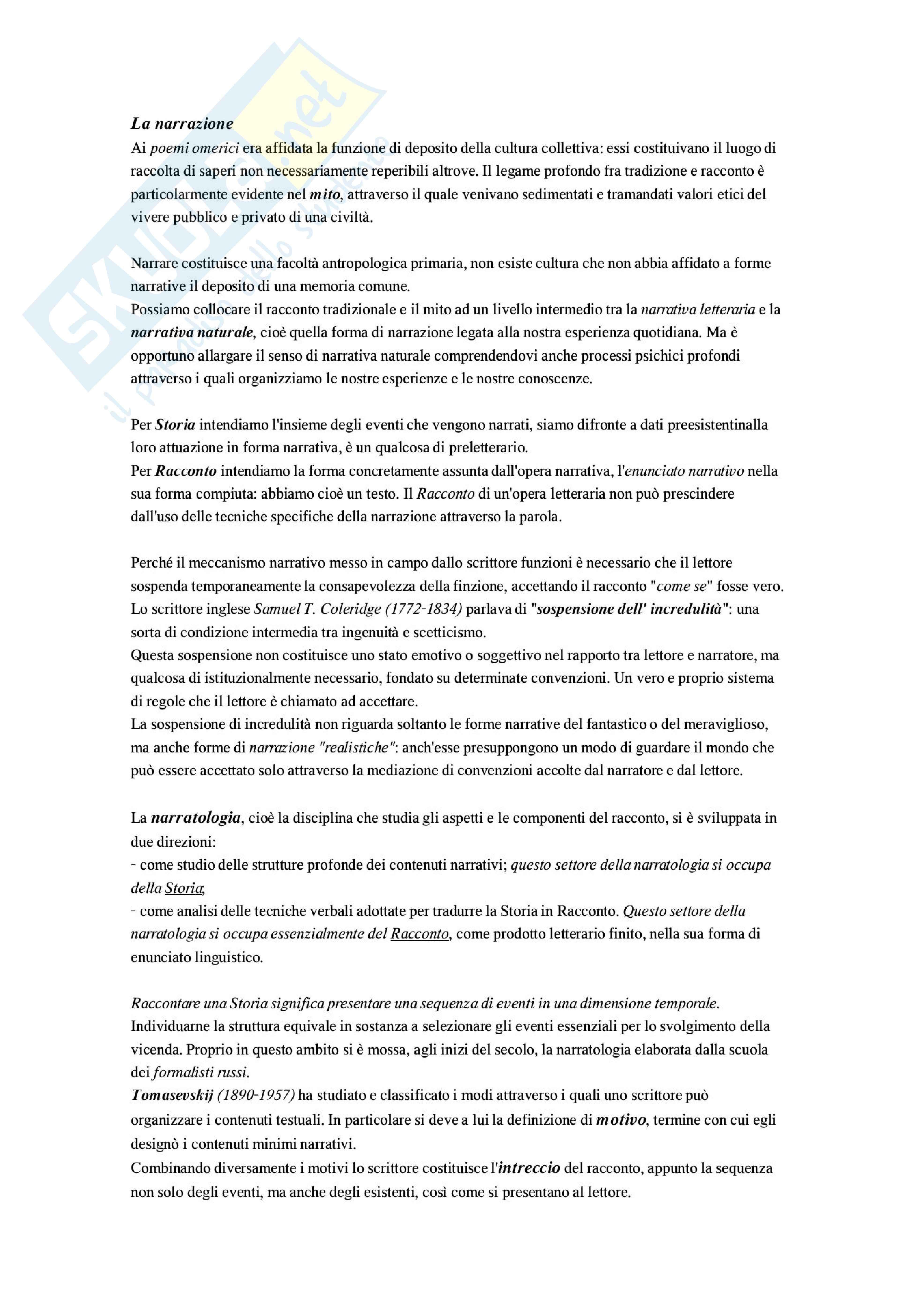 Letteratura italiana - Che cos'è un testo letterario Pag. 6