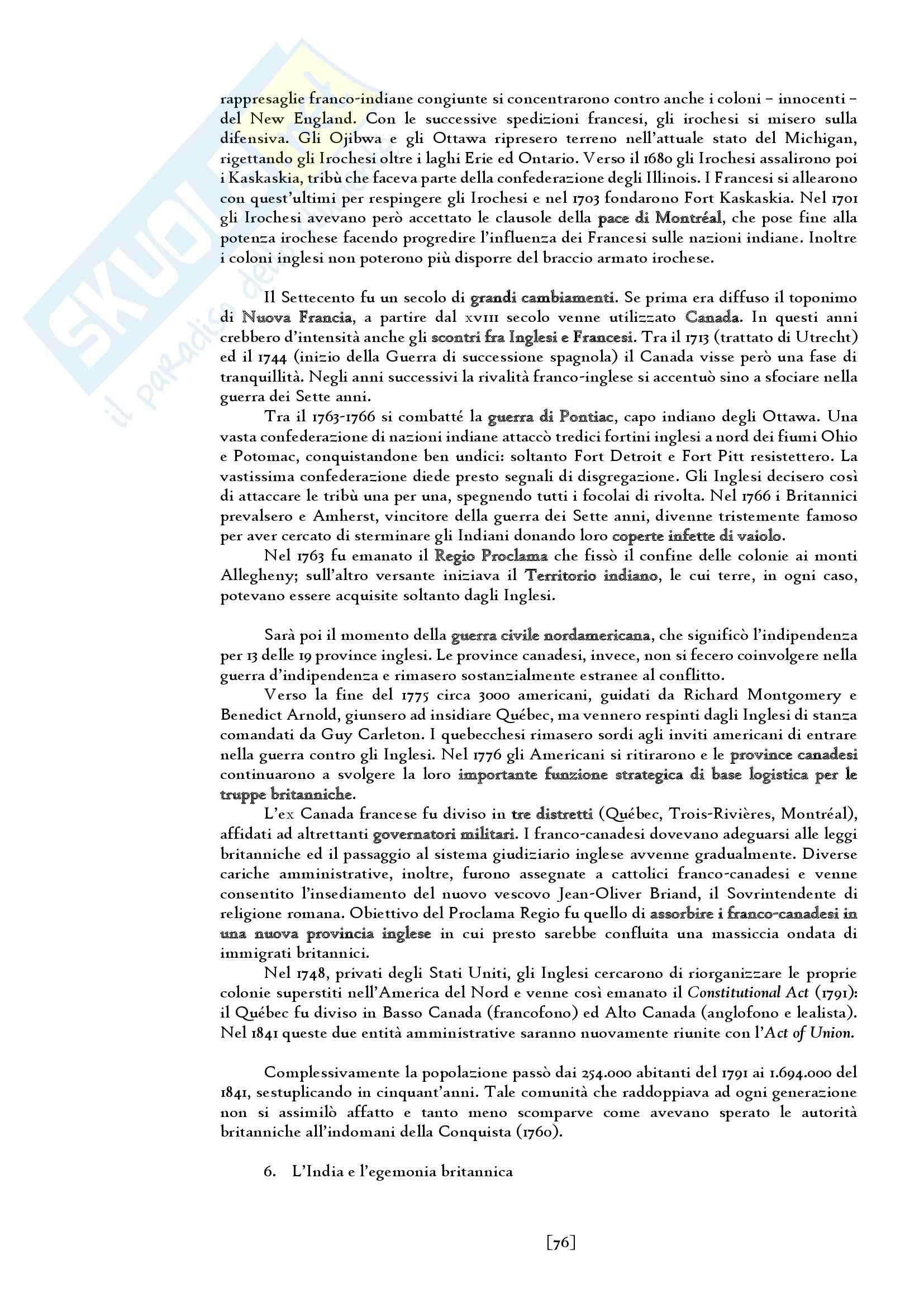 Riassunto esame del Manuale di storia moderna. L' età moderna (1660-1815) di Ricuperati, Ieva, prof. Carpanetto Pag. 76
