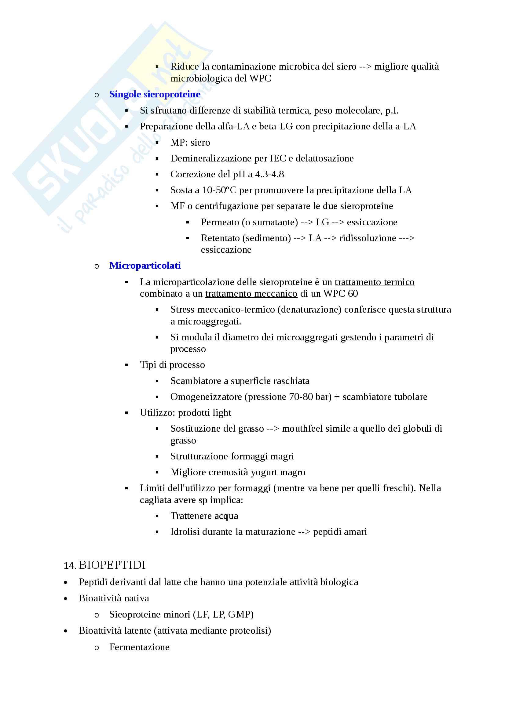 prof. De Noni Qualità Funzionalità Latte Derivati, Appunti di lezione Pag. 21