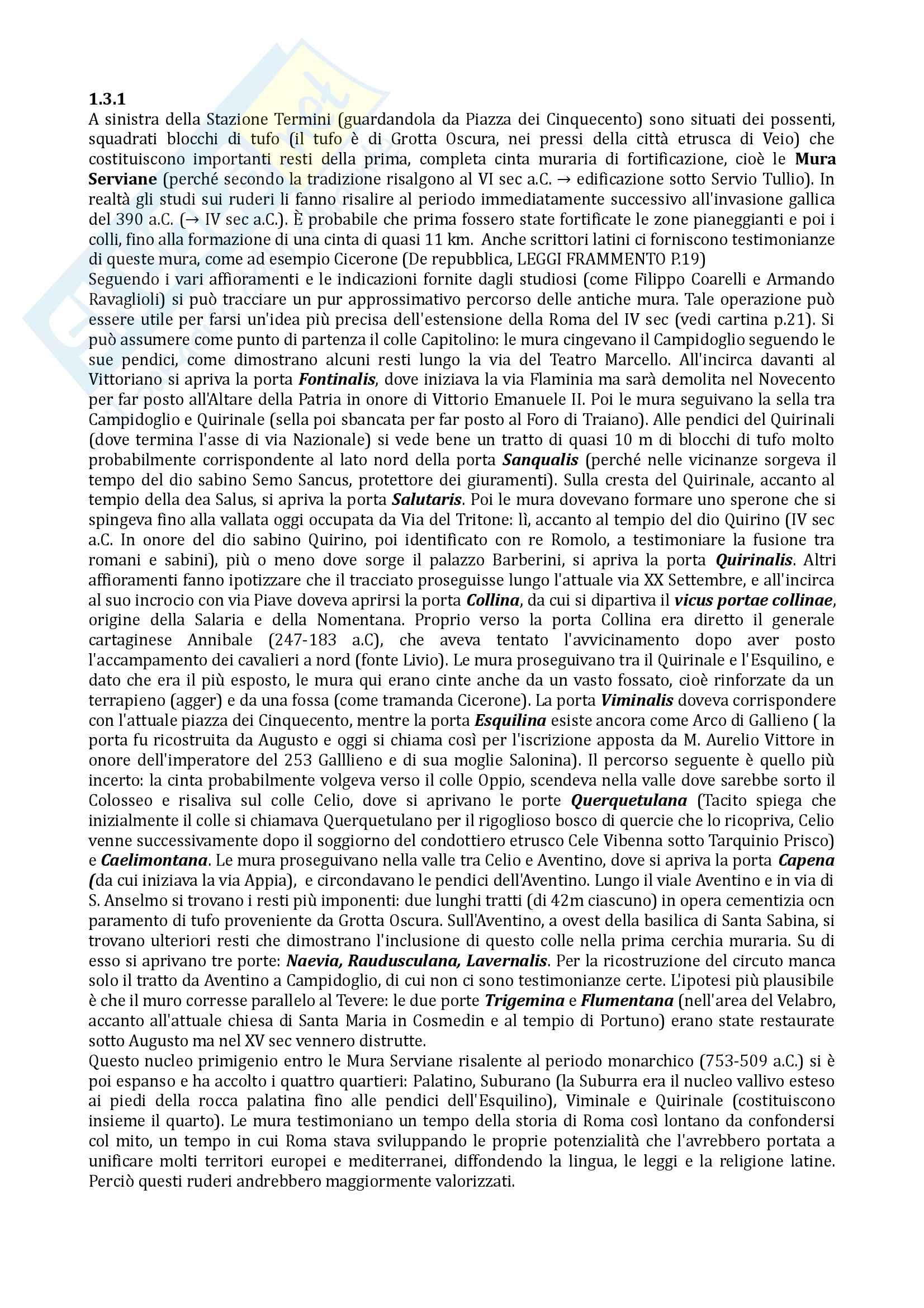 Riassunto esame Geografia, prof De Vecchis, libro consigliato Roma il senso del luogo,Pasquinelli Pag. 2