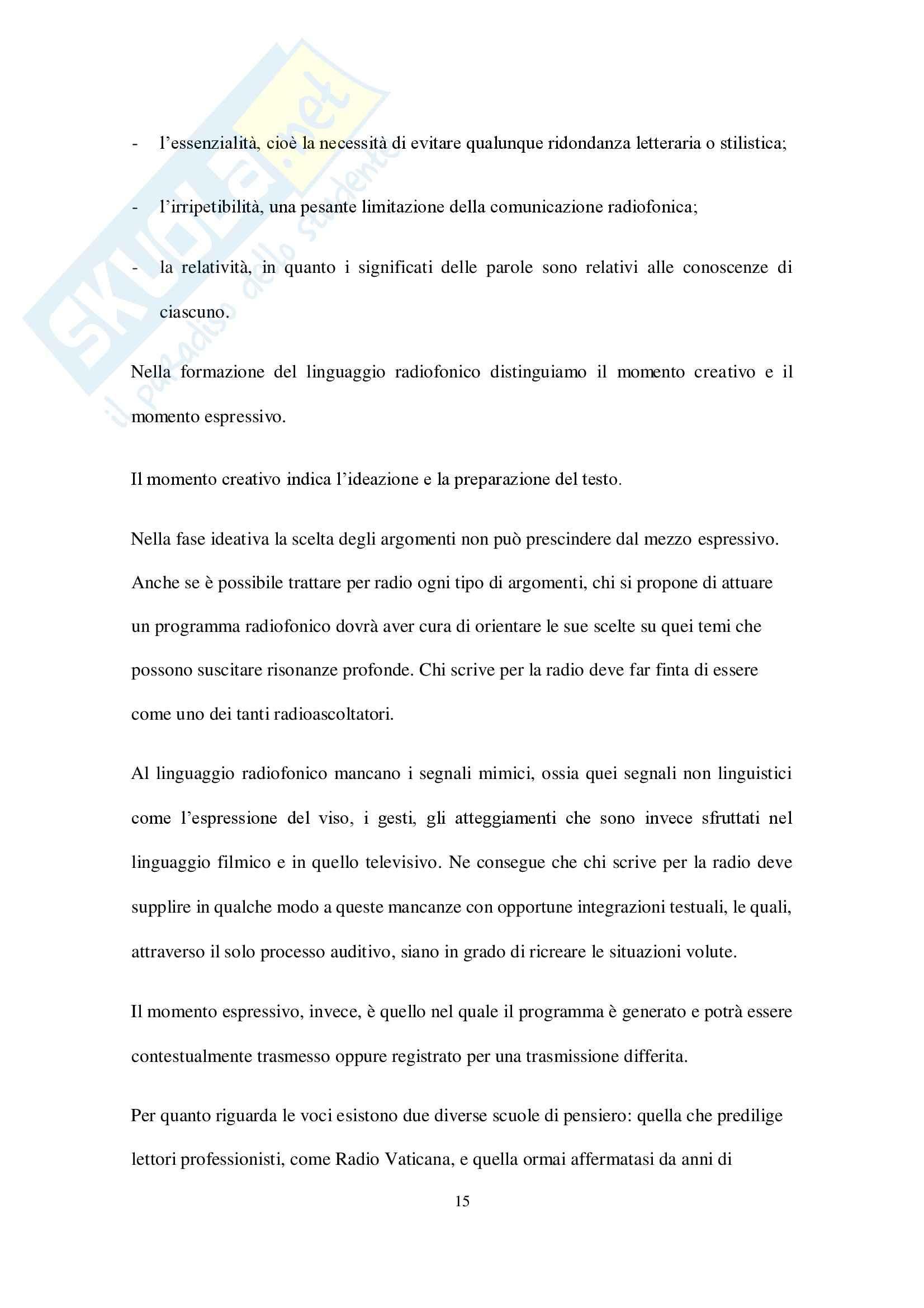 Comunicazione Radiofonica, Economia e marketing Pag. 16