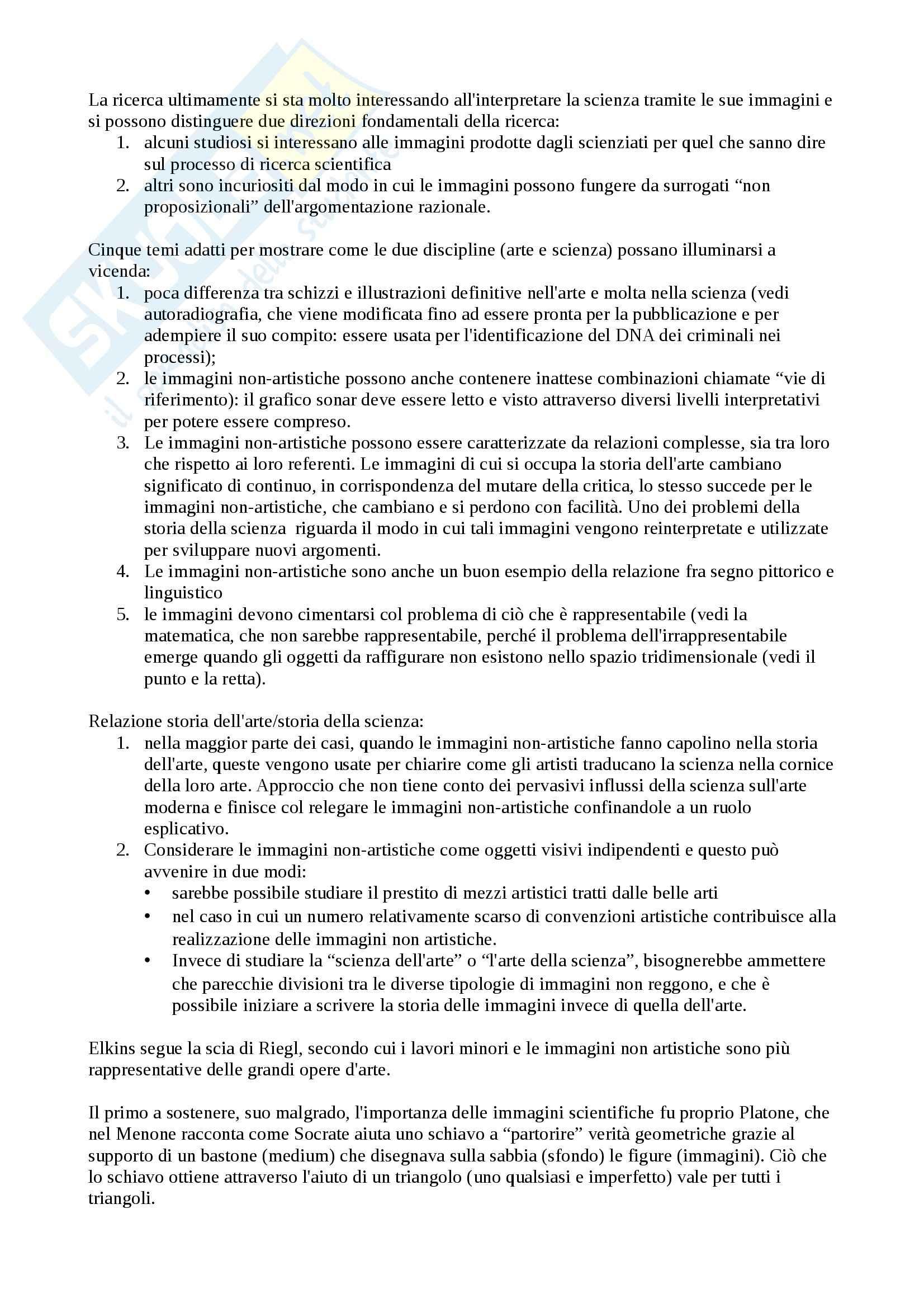 Riassunto esame Estetica, prof. Pinotti, libro consigliato Teorie dell'immagine: Il dibattito contemporaneo Pag. 11