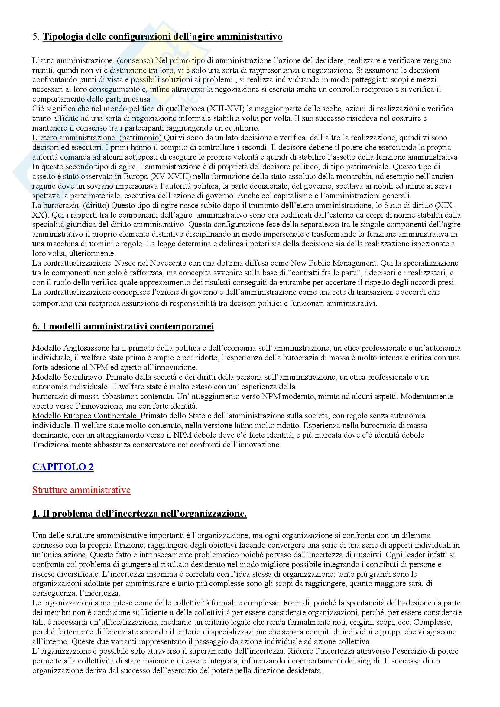 Scienza dell'amministrazione - Diritto amministrativo Pag. 2