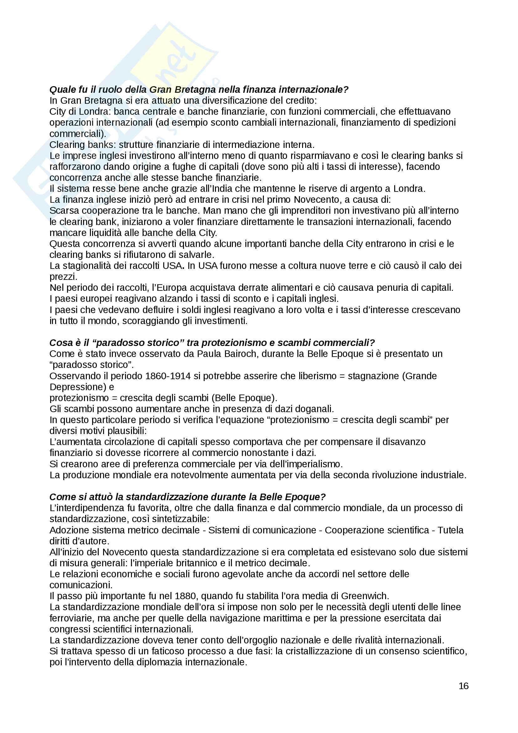 Domande Storia economica Pag. 16