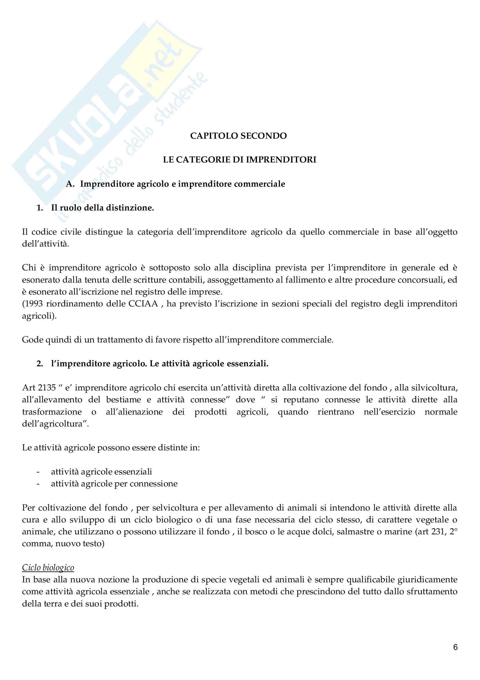 Riassunto esame Diritto Commerciale, prof. Vella, libro consigliato Diritto Commerciale, Campobasso Pag. 6