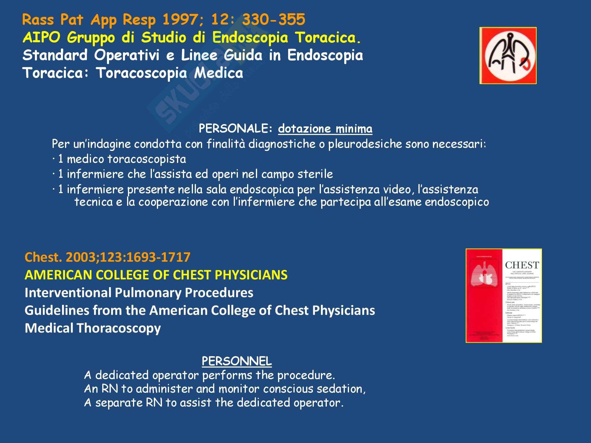 Malattie dell'apparato respiratorio - la diagnostica dei versamenti Pag. 31