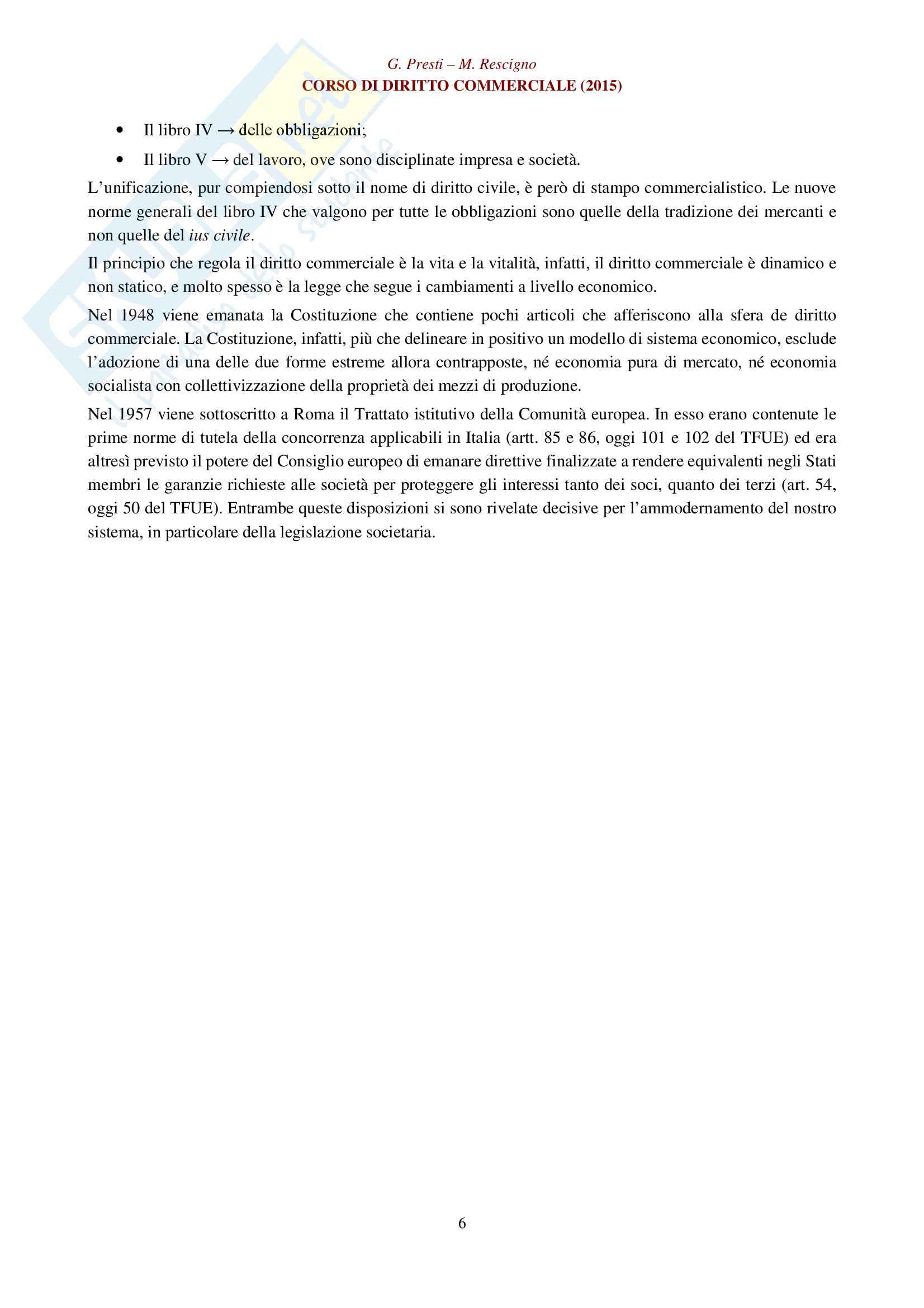 Appunti per esame di diritto commerciale: impresa, imprenditore e azienda Pag. 6