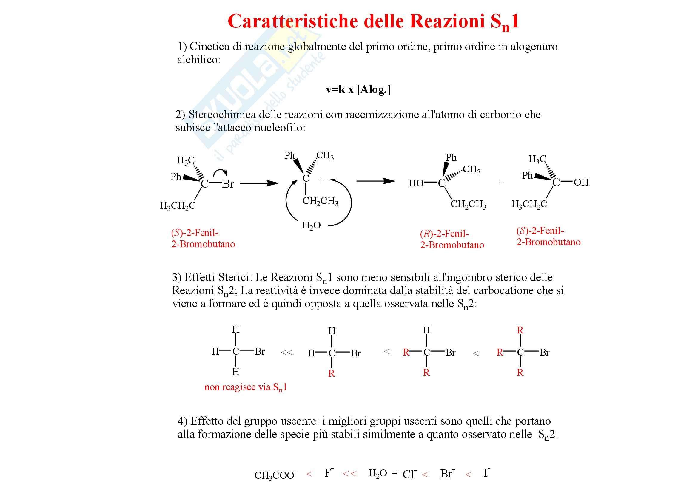 Chimica organica - gli alogenuri alchilici Pag. 11