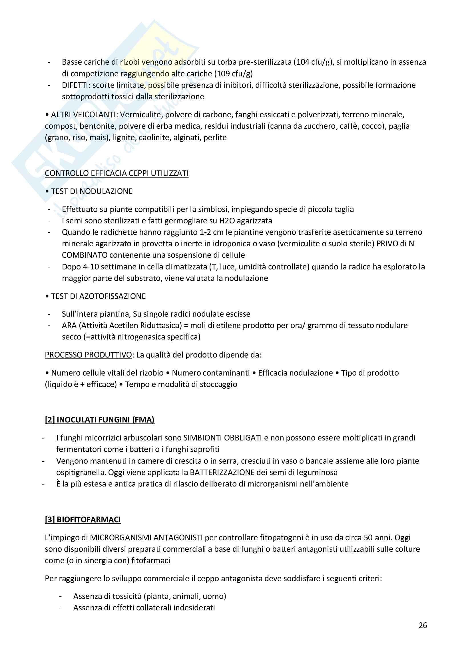 Biotecnologie Microbiche Vegetali Pag. 26