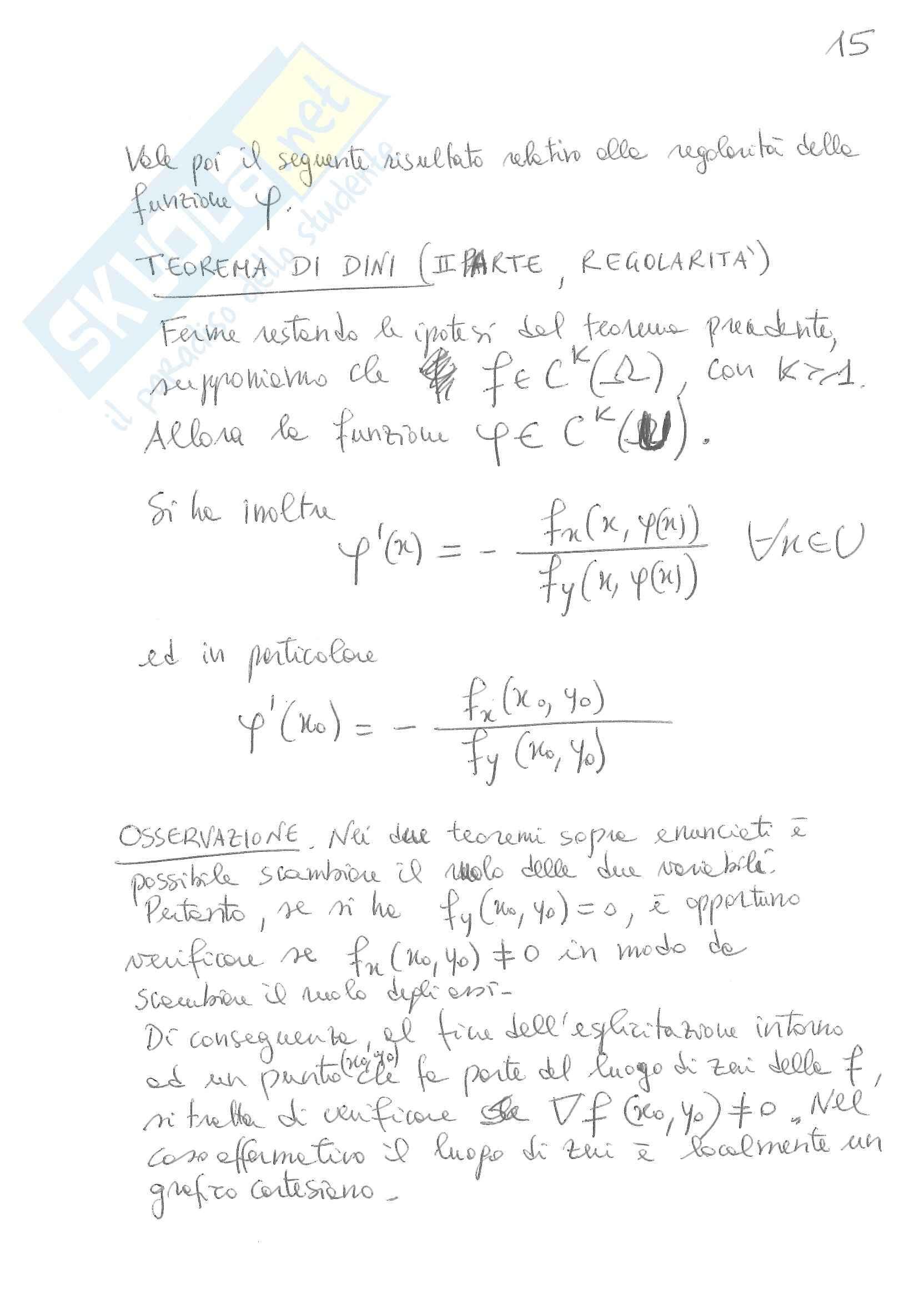 Funzioni in più variabili Pag. 16