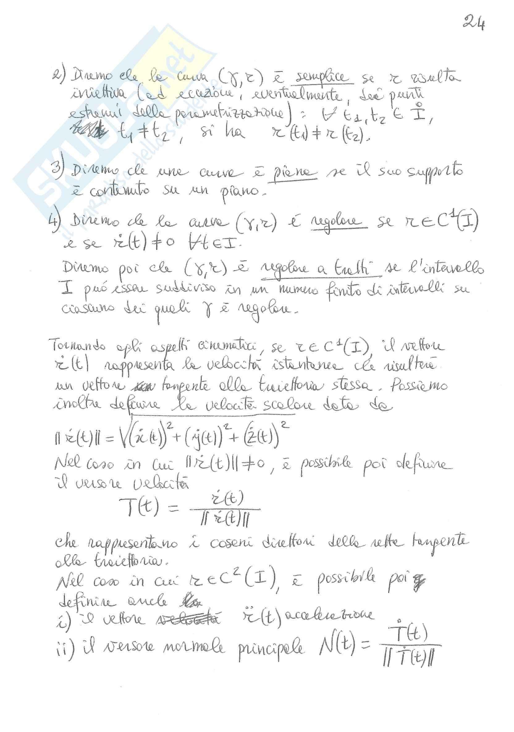 Funzioni in più variabili Pag. 26