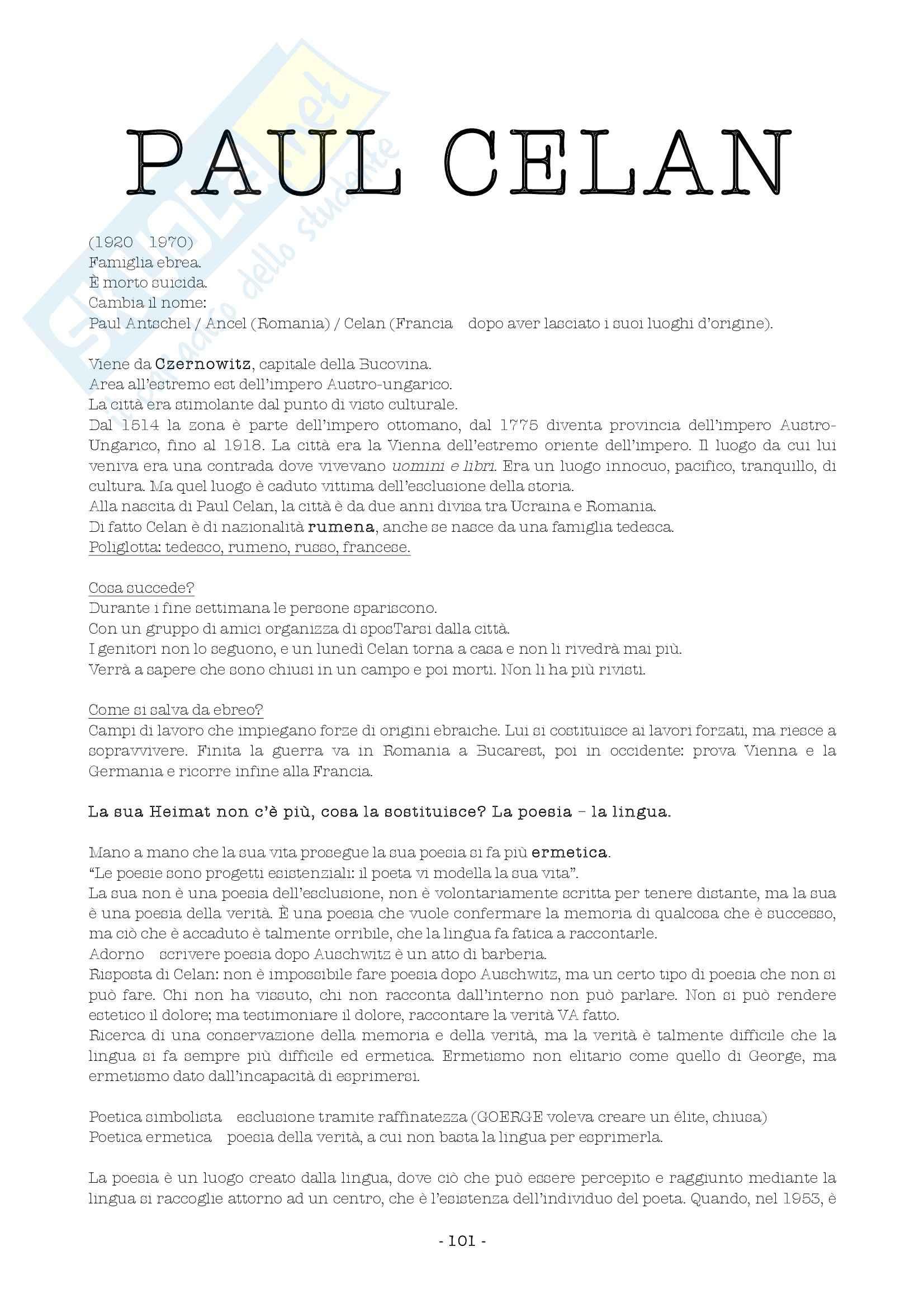 Letteratura tedesca - ´800  e ´900 Pag. 36