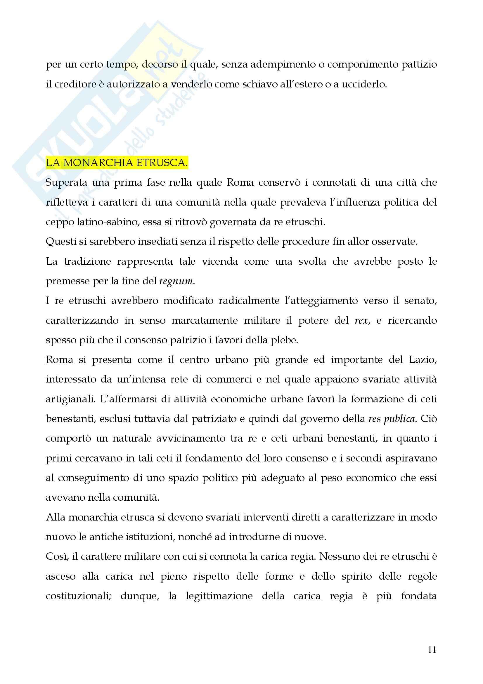 Riassunto esame Storia del diritto romano, prof. Cerami, libro consigliato Cerami, Corbino Pag. 11