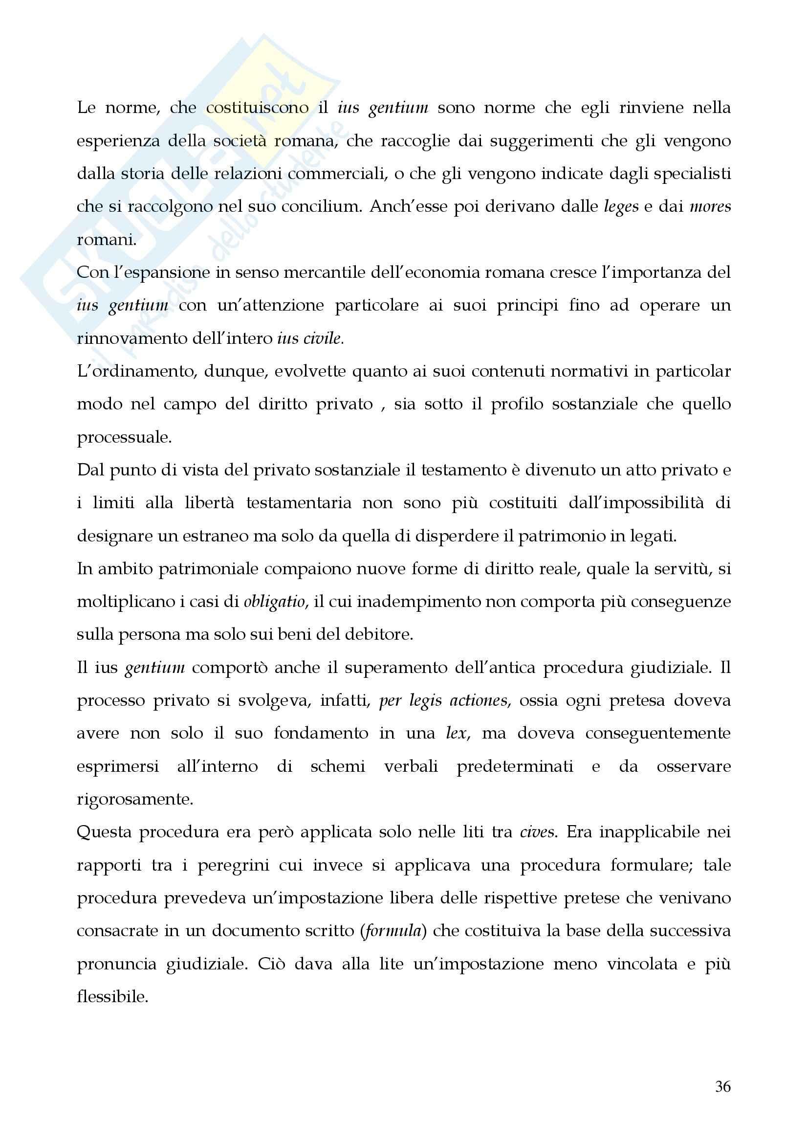 Riassunto esame Storia del diritto romano, prof. Cerami, libro consigliato Cerami, Corbino Pag. 36
