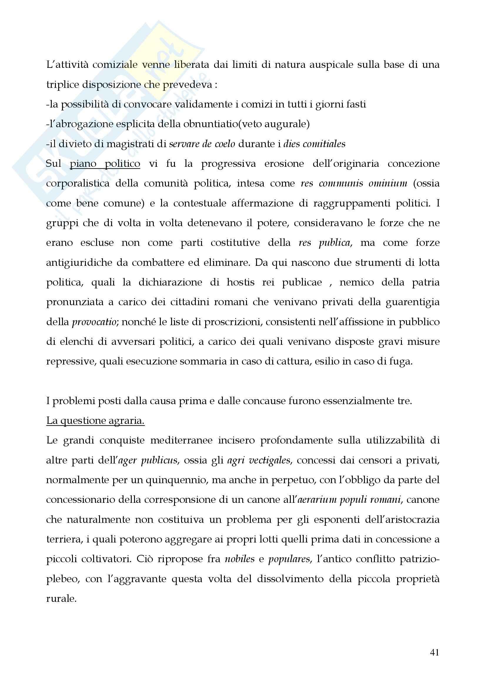 Riassunto esame Storia del diritto romano, prof. Cerami, libro consigliato Cerami, Corbino Pag. 41