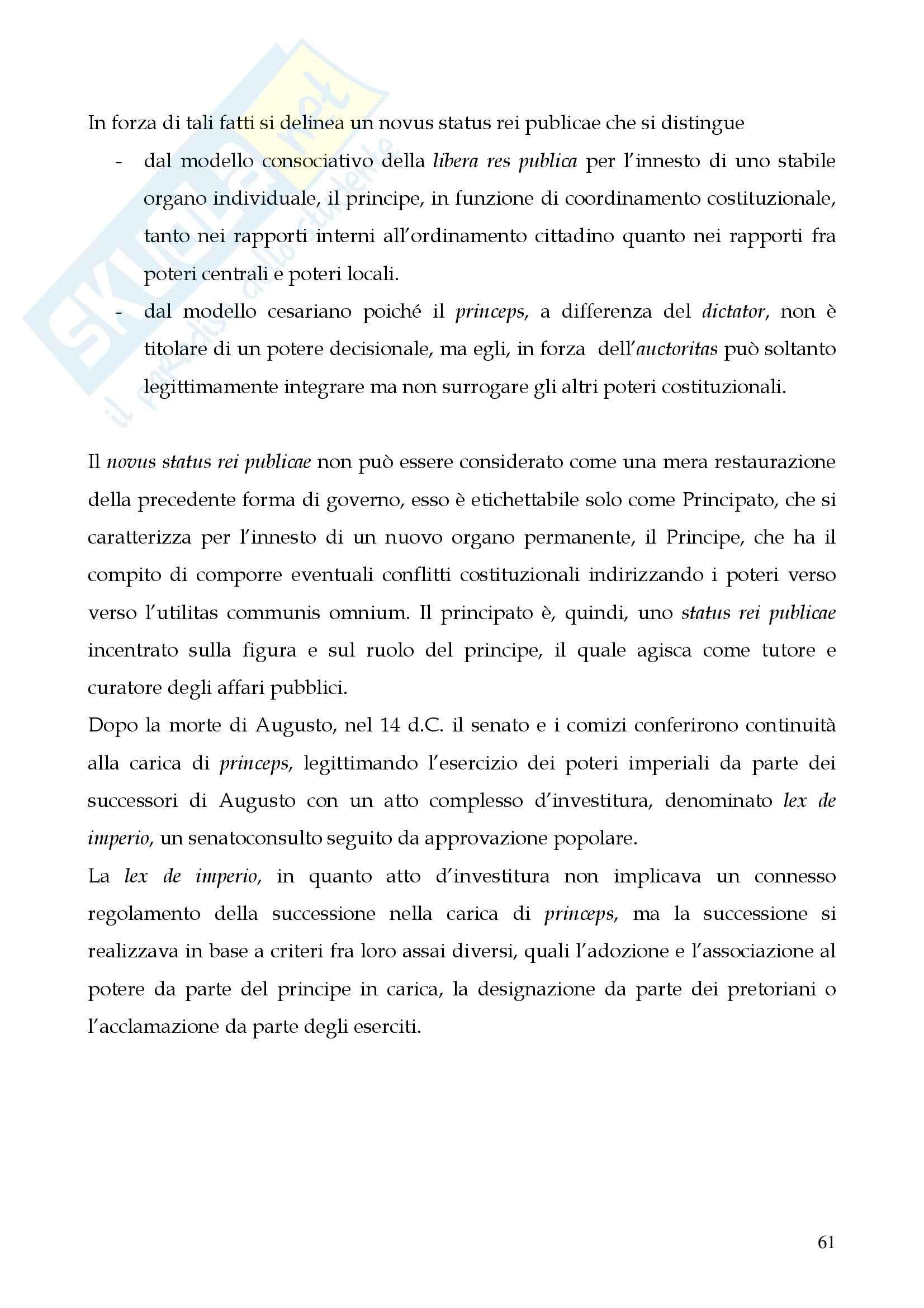 Riassunto esame Storia del diritto romano, prof. Cerami, libro consigliato Cerami, Corbino Pag. 61