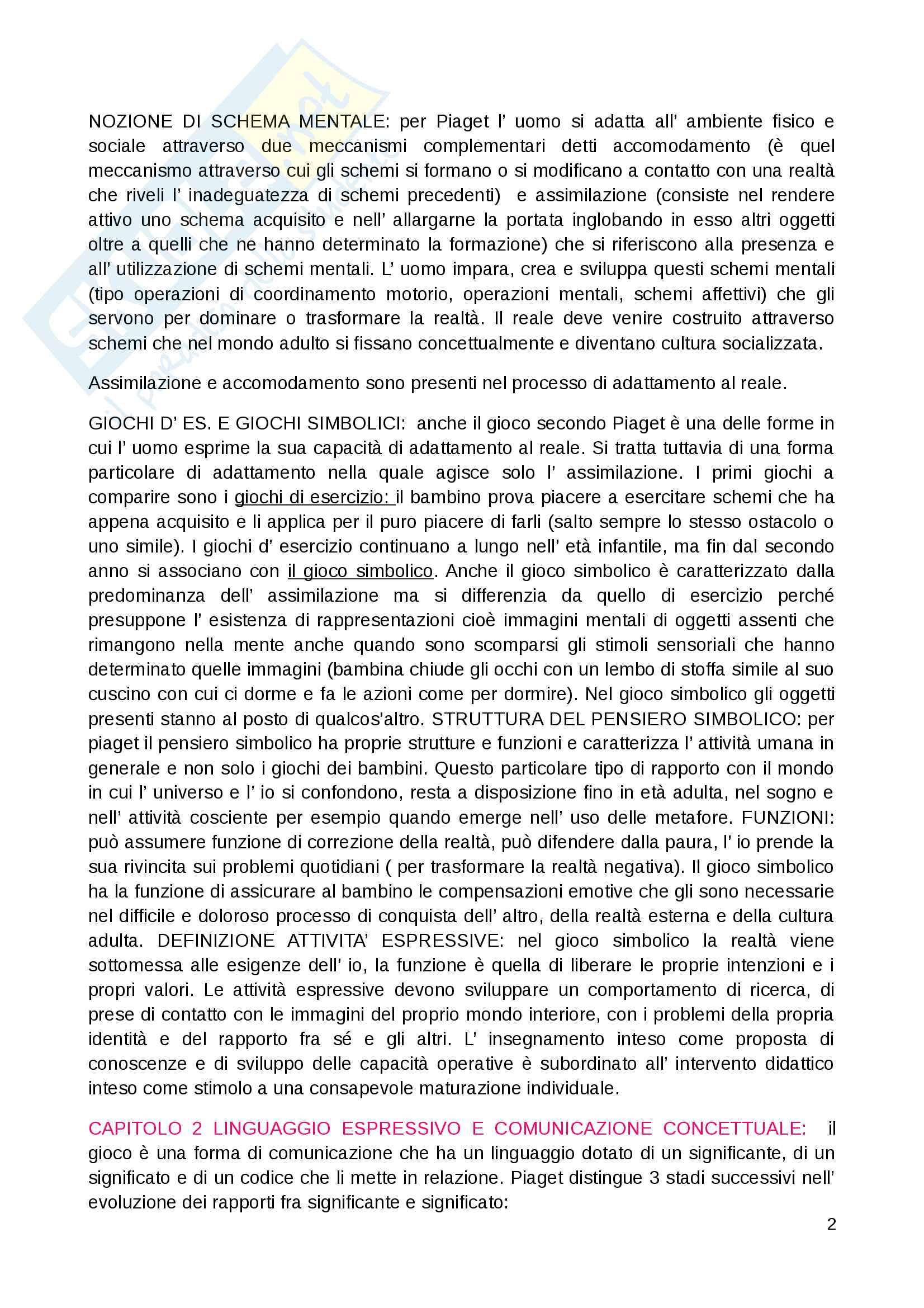 """Riassunto esame Educazione musicale, prof. Luisa Curinga, libri consigliati """"Suoni e significati"""" di Baroni Mario, """"Teorie, metodi e pratiche"""" di Johannella Tafuri e """"Nascere musicali"""" di Johannella Tafuri Pag. 2"""