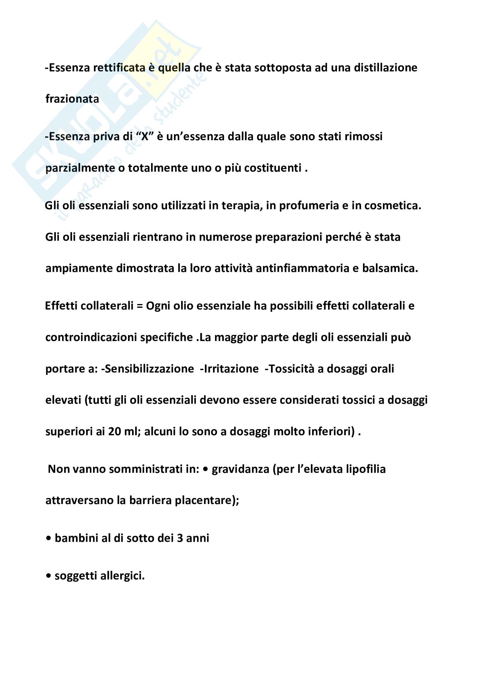 Appunti farmacognosia Pag. 6