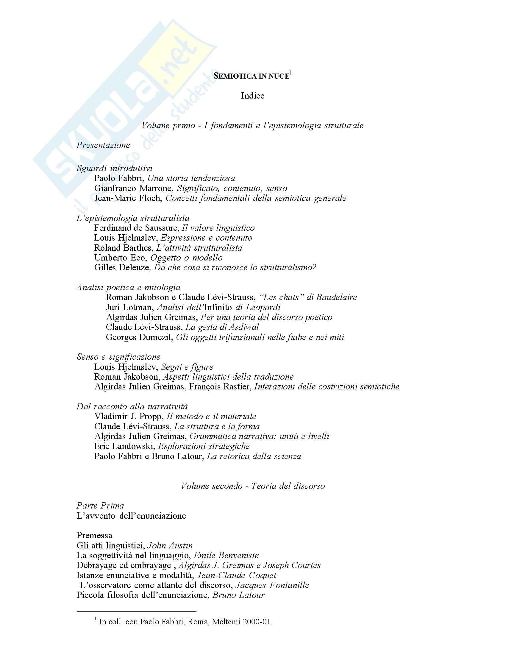 Semiotica in nuce - introduzione