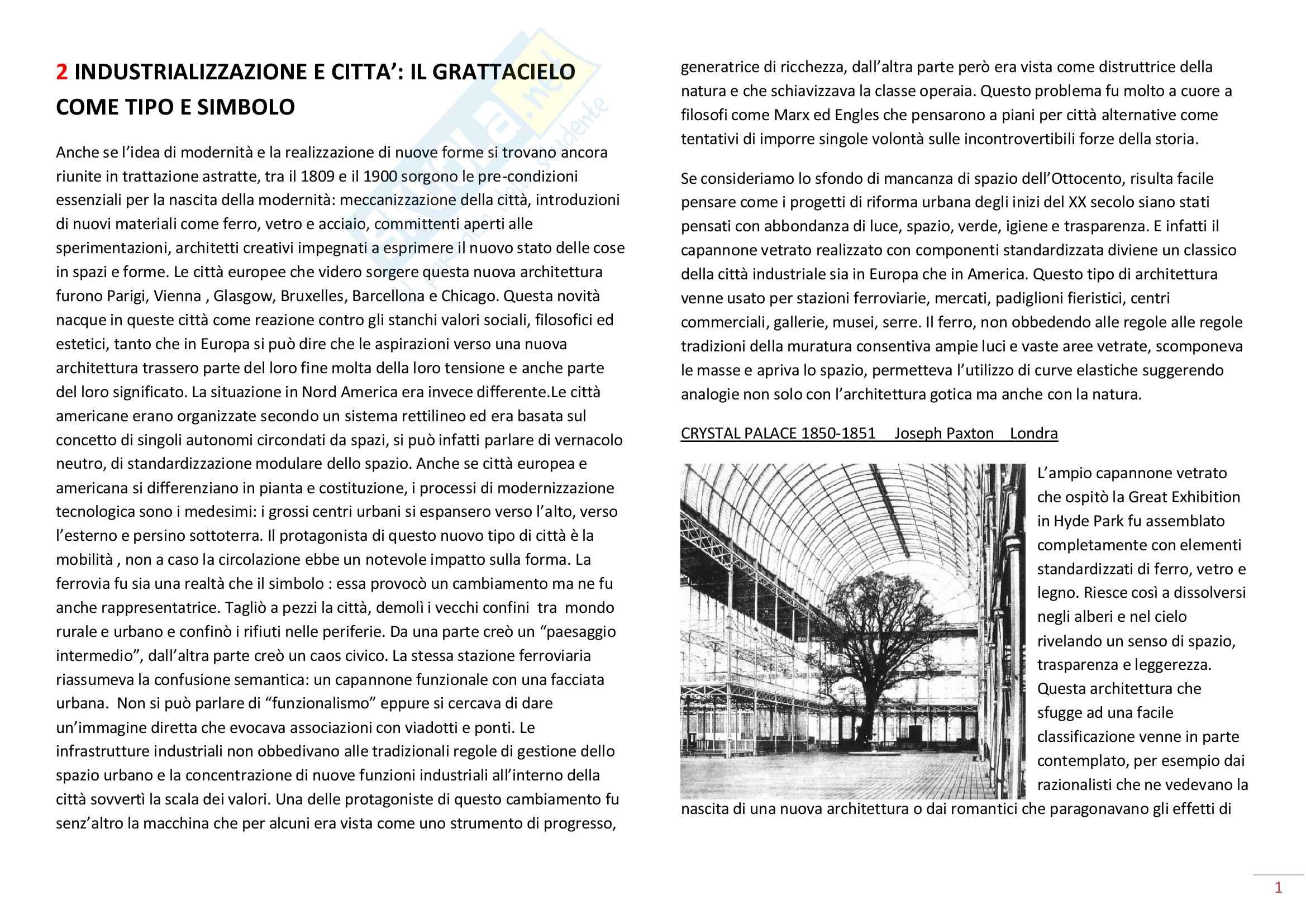 Storia dell'Architettura del '900