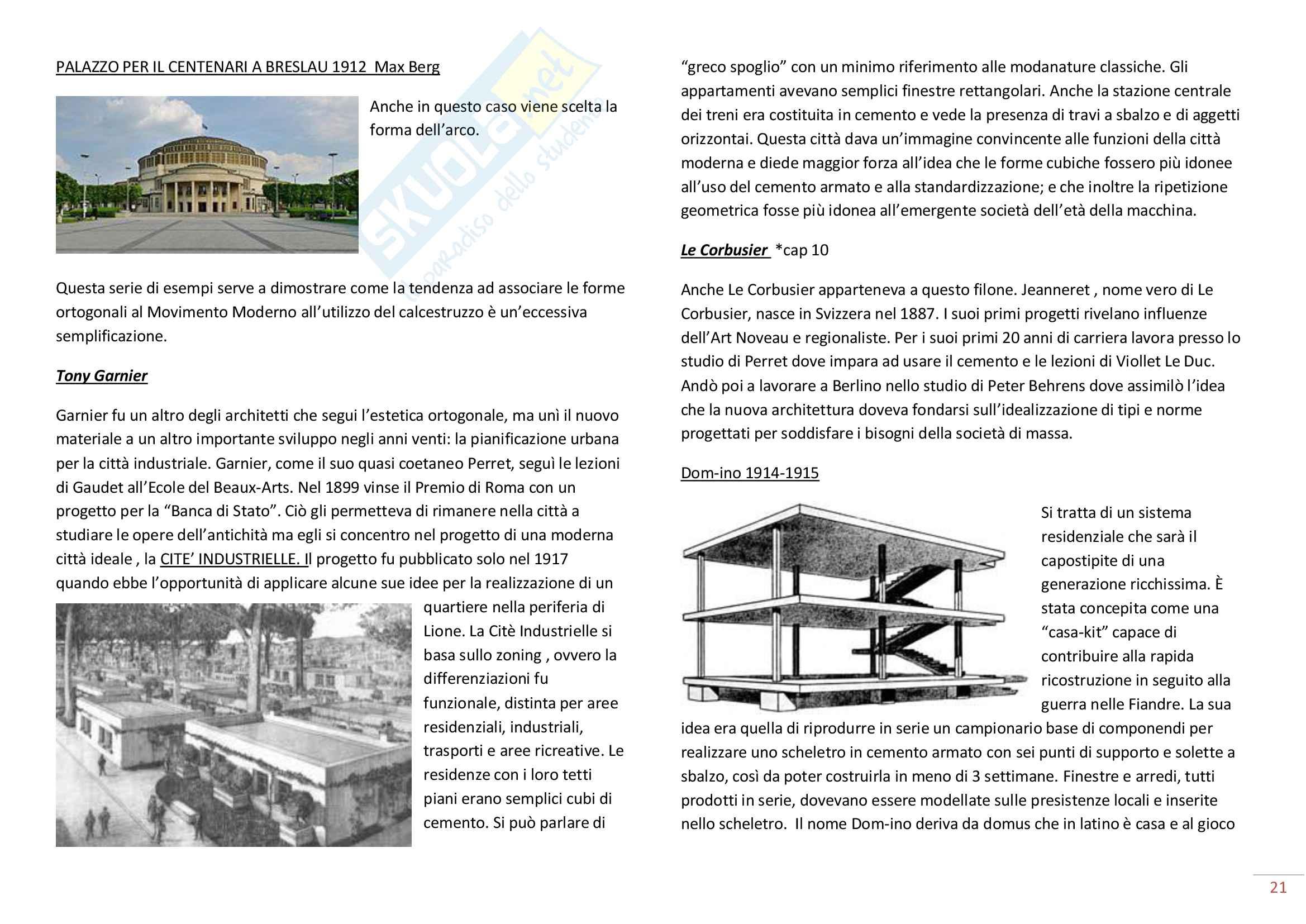 Storia dell'Architettura del '900 Pag. 21