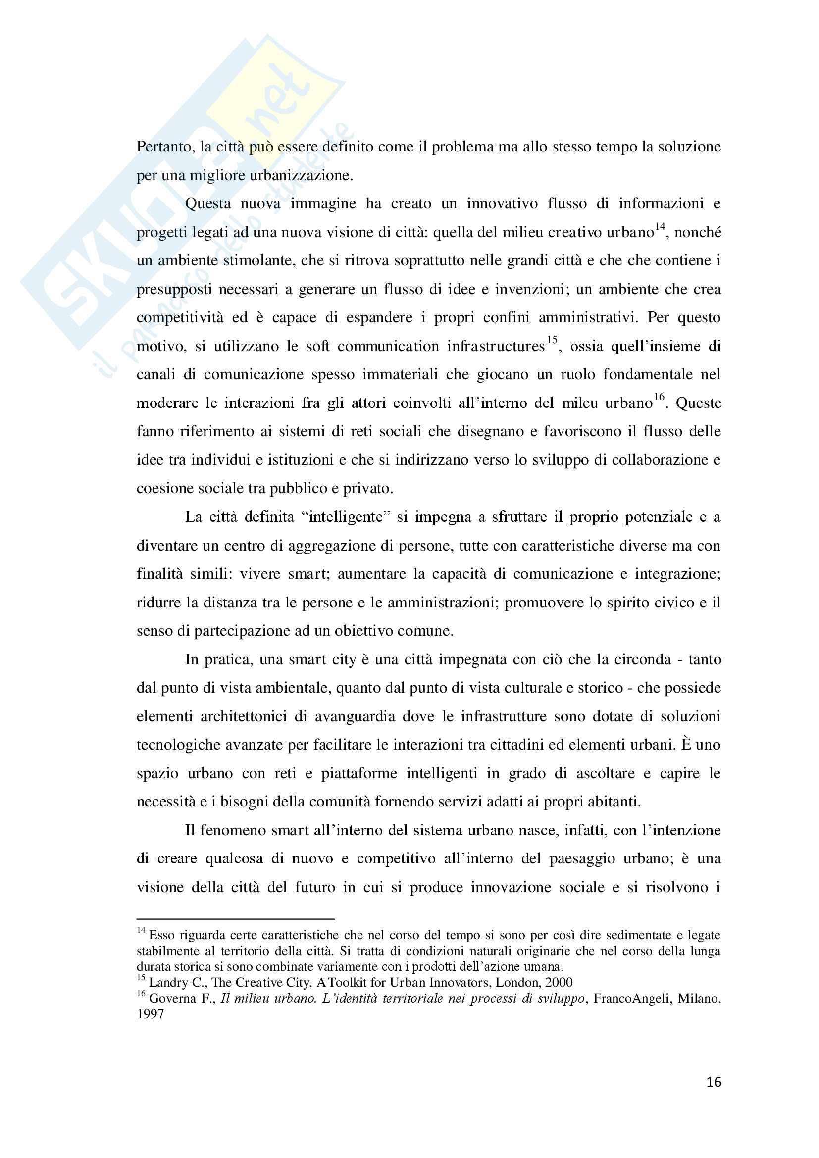 Torino Smart City: la rigenerazione della città attraverso le Information and Communication Technologies. Pag. 16