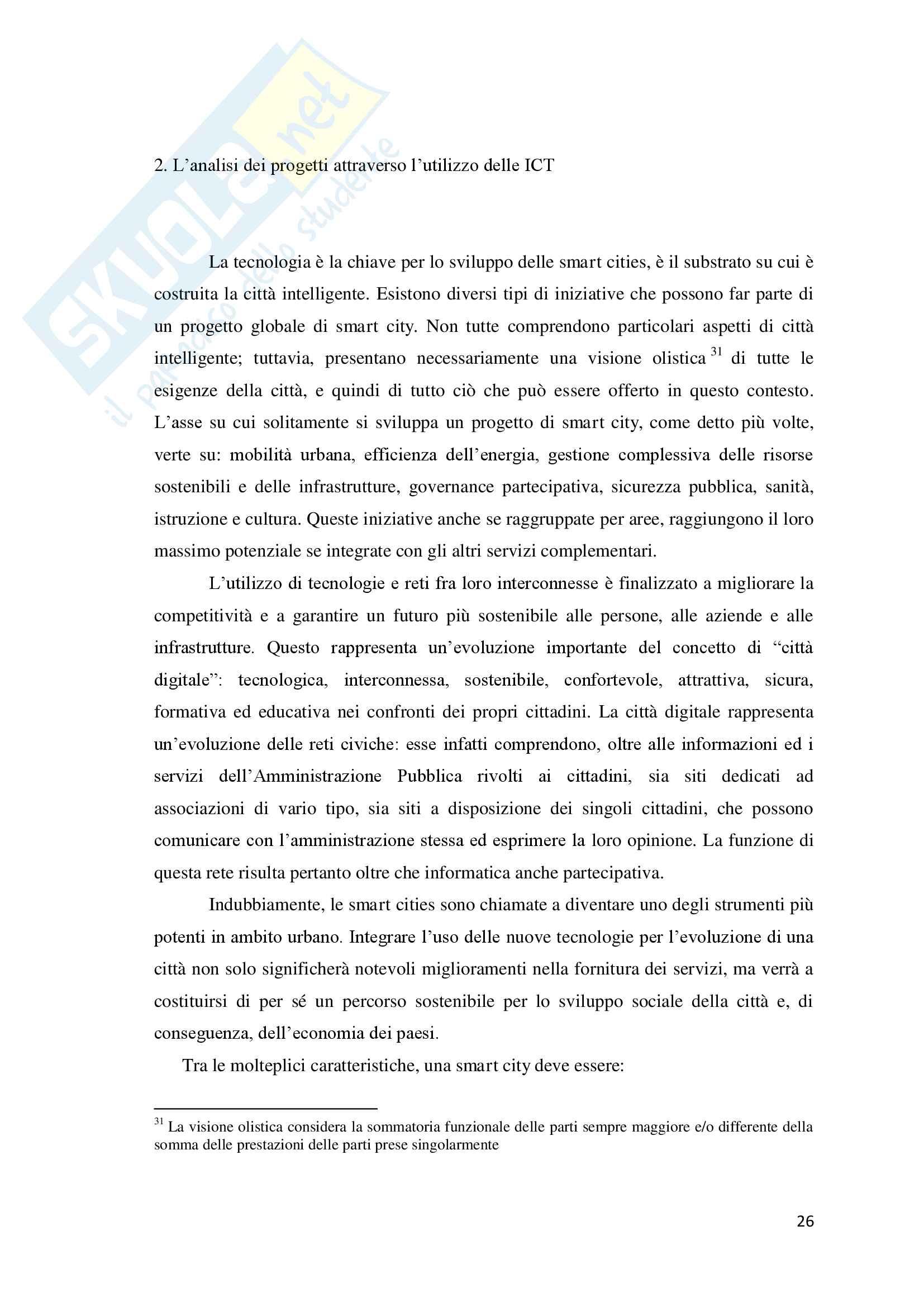 Torino Smart City: la rigenerazione della città attraverso le Information and Communication Technologies. Pag. 26