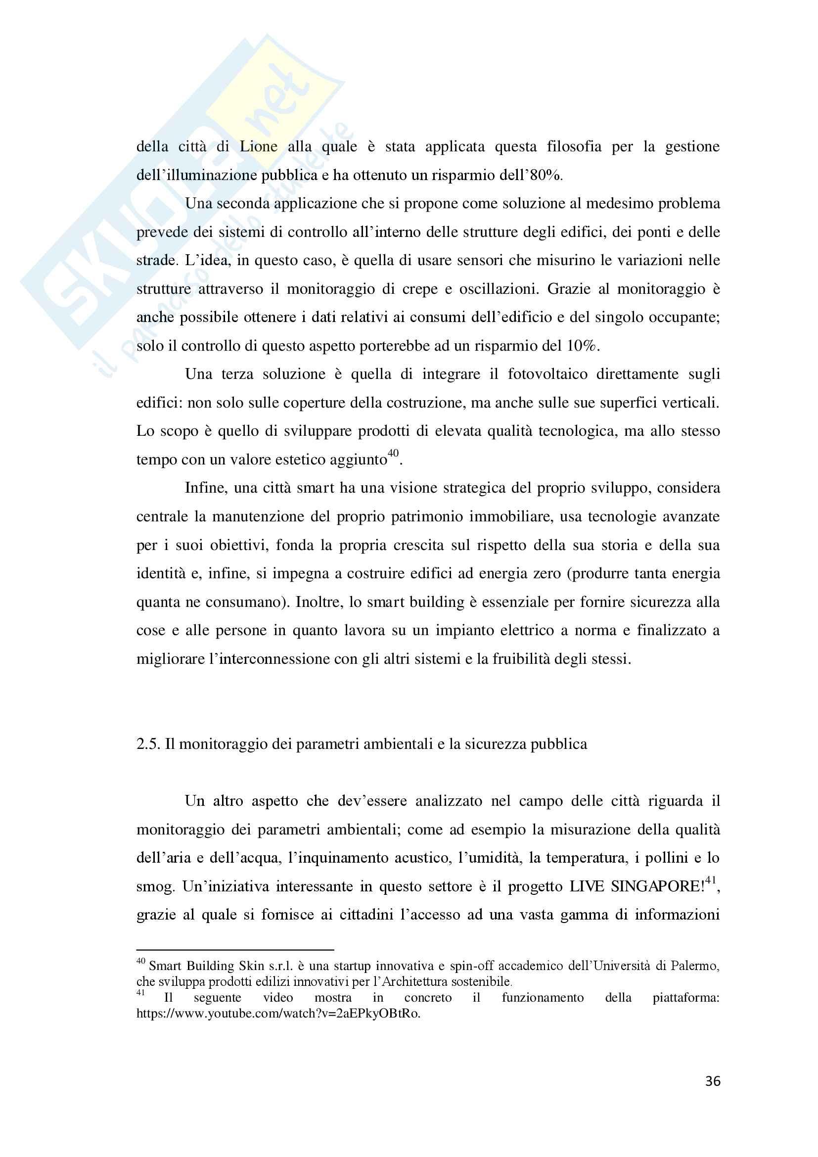 Torino Smart City: la rigenerazione della città attraverso le Information and Communication Technologies. Pag. 36