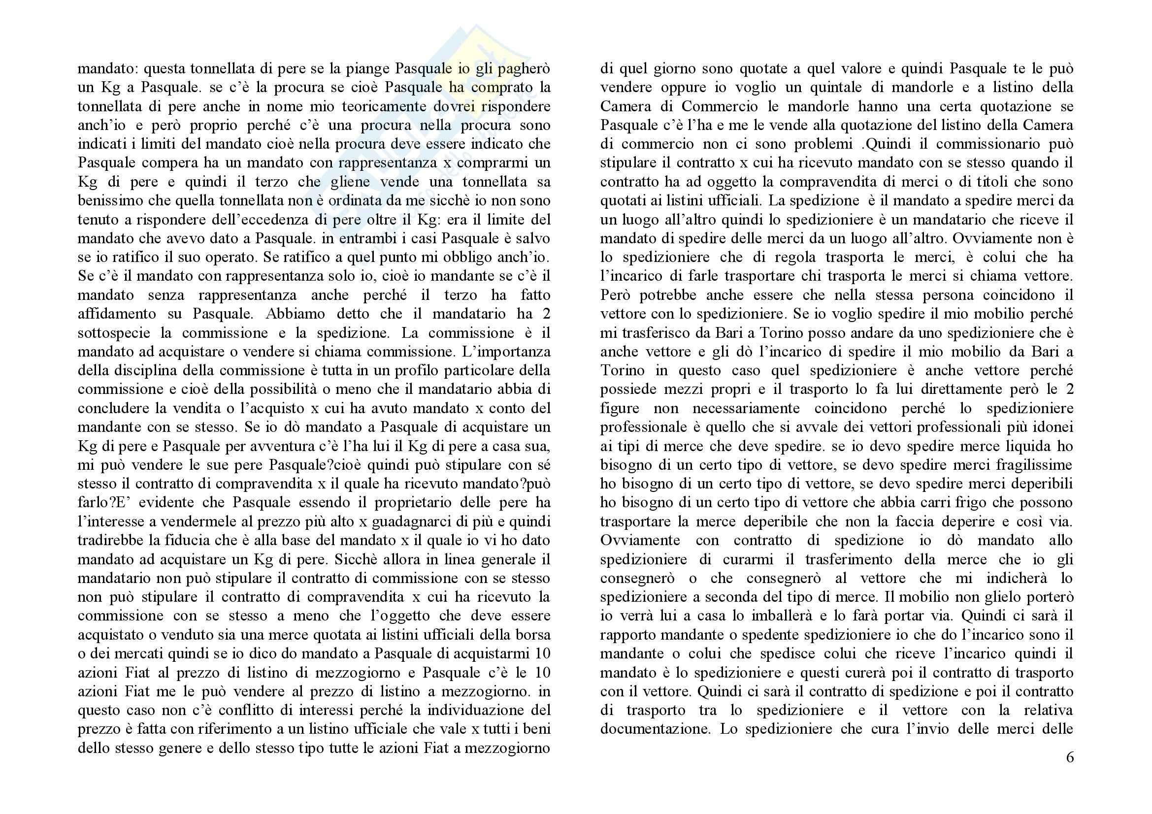 Manuale di diritto commerciale, Graziani, Minervini - Appunti Pag. 6