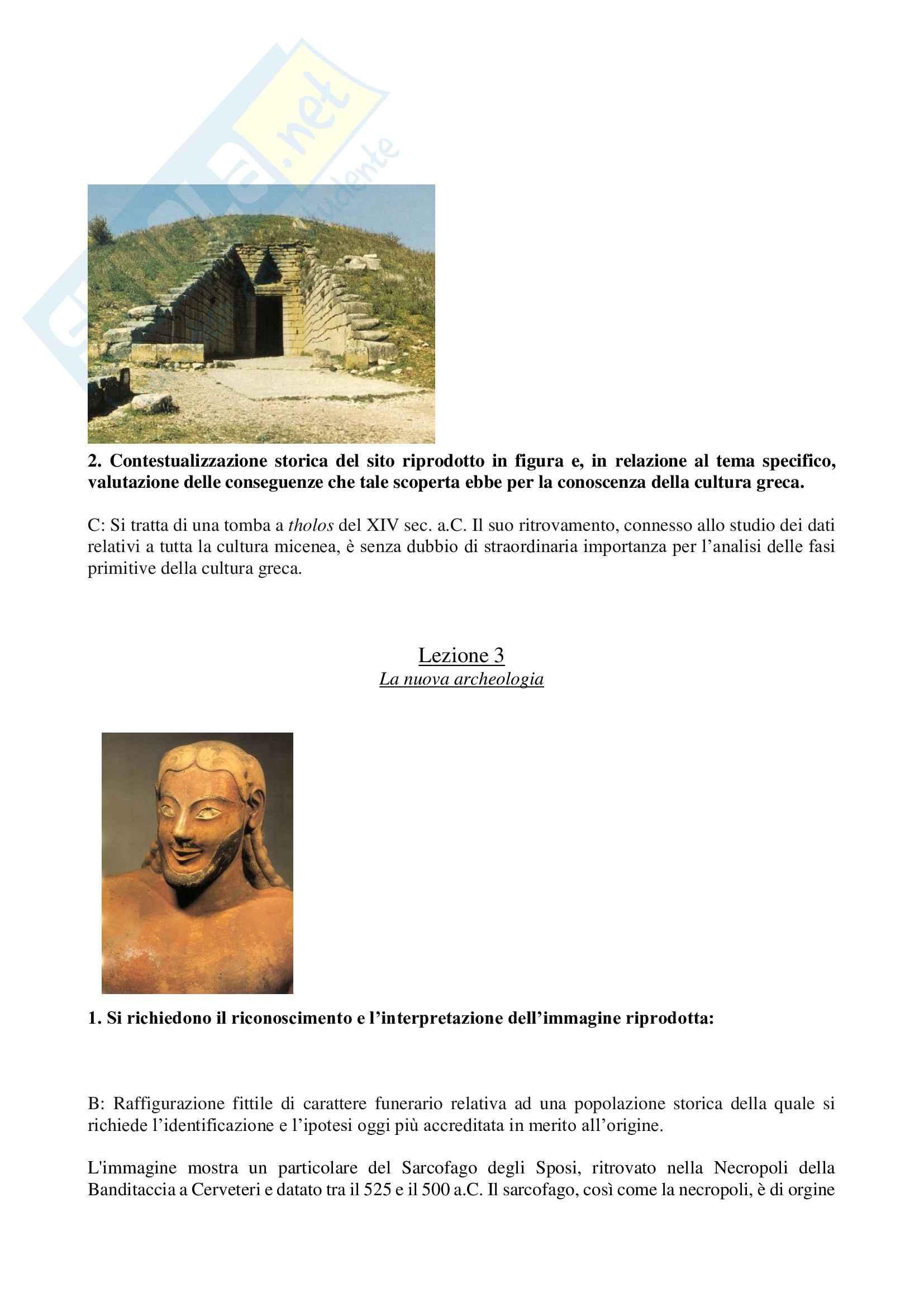 Metodologie della ricerca archeologica Pag. 2