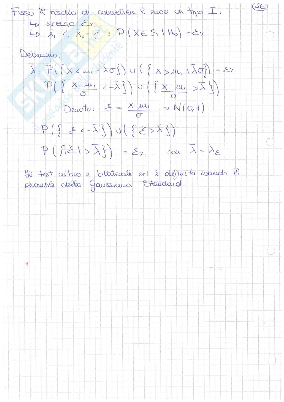 Teoria ed esempi di modellistica ed identificazione Pag. 36