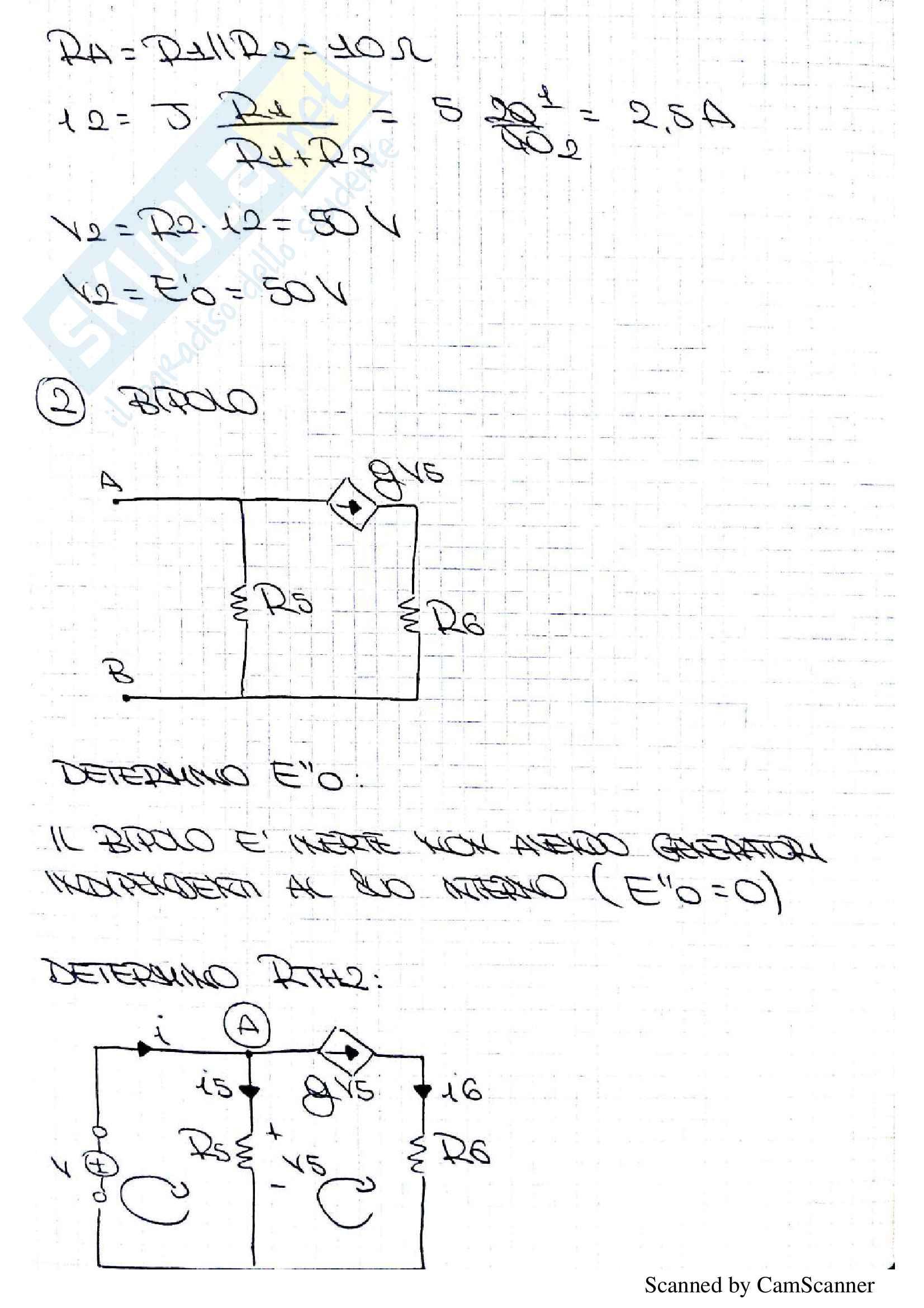 Tracce svolte Introduzione ai circuiti Pag. 26