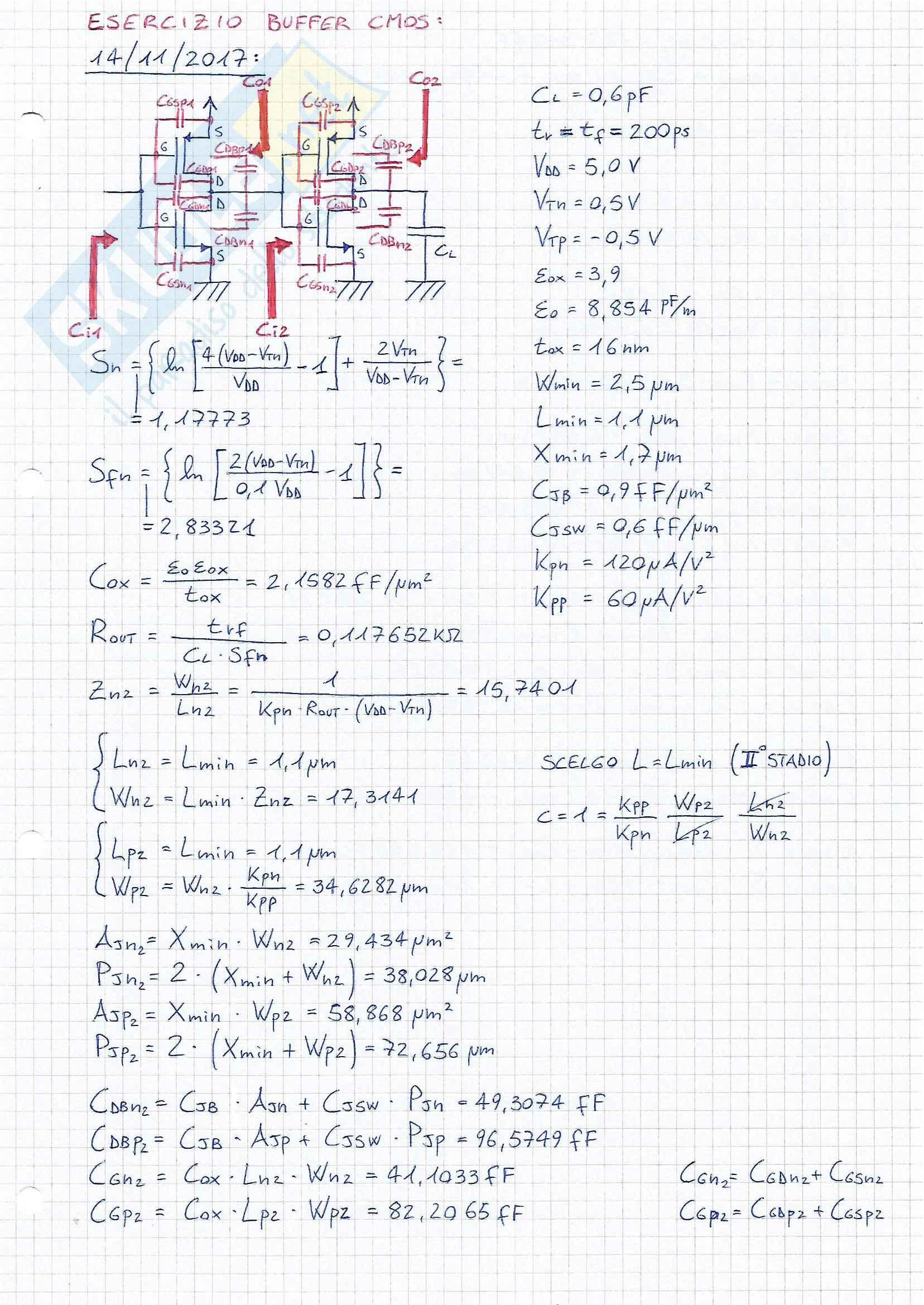 Elettronica Digitale, Prof. Giorgio Biagetti, Esercizi d'esame