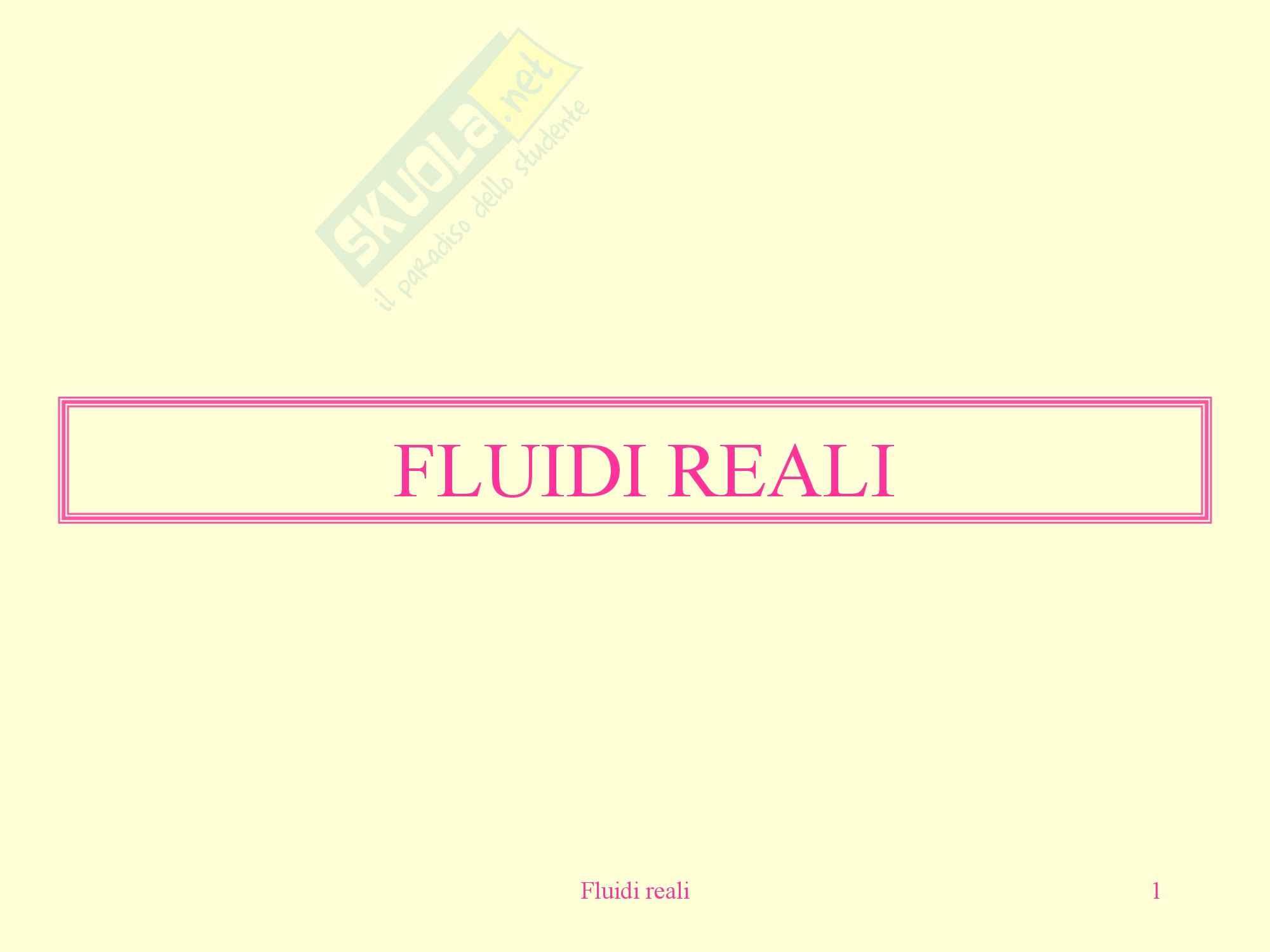 Fisica medica - fluidi reali