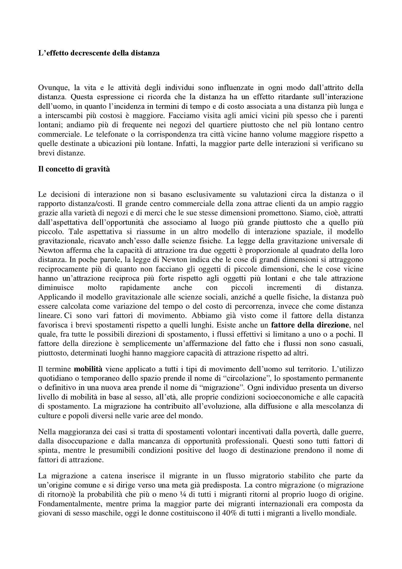 Riassunto esame Geografia, prof. De Spuches, libro consigliato Geografia umana, A. e J. Getis, Fellman Pag. 6