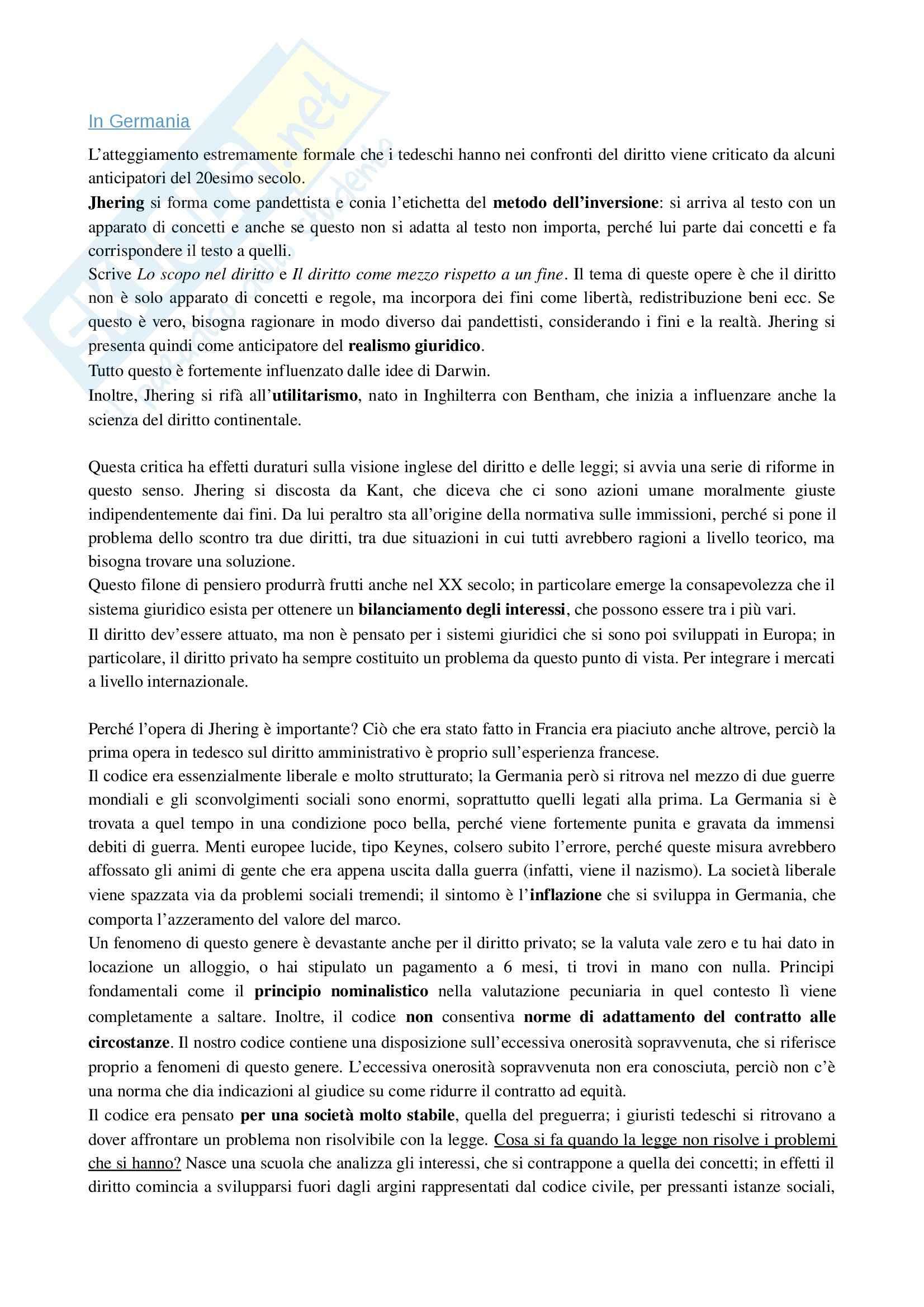 Parte 2, Sistemi giuridici comparati Pag. 6