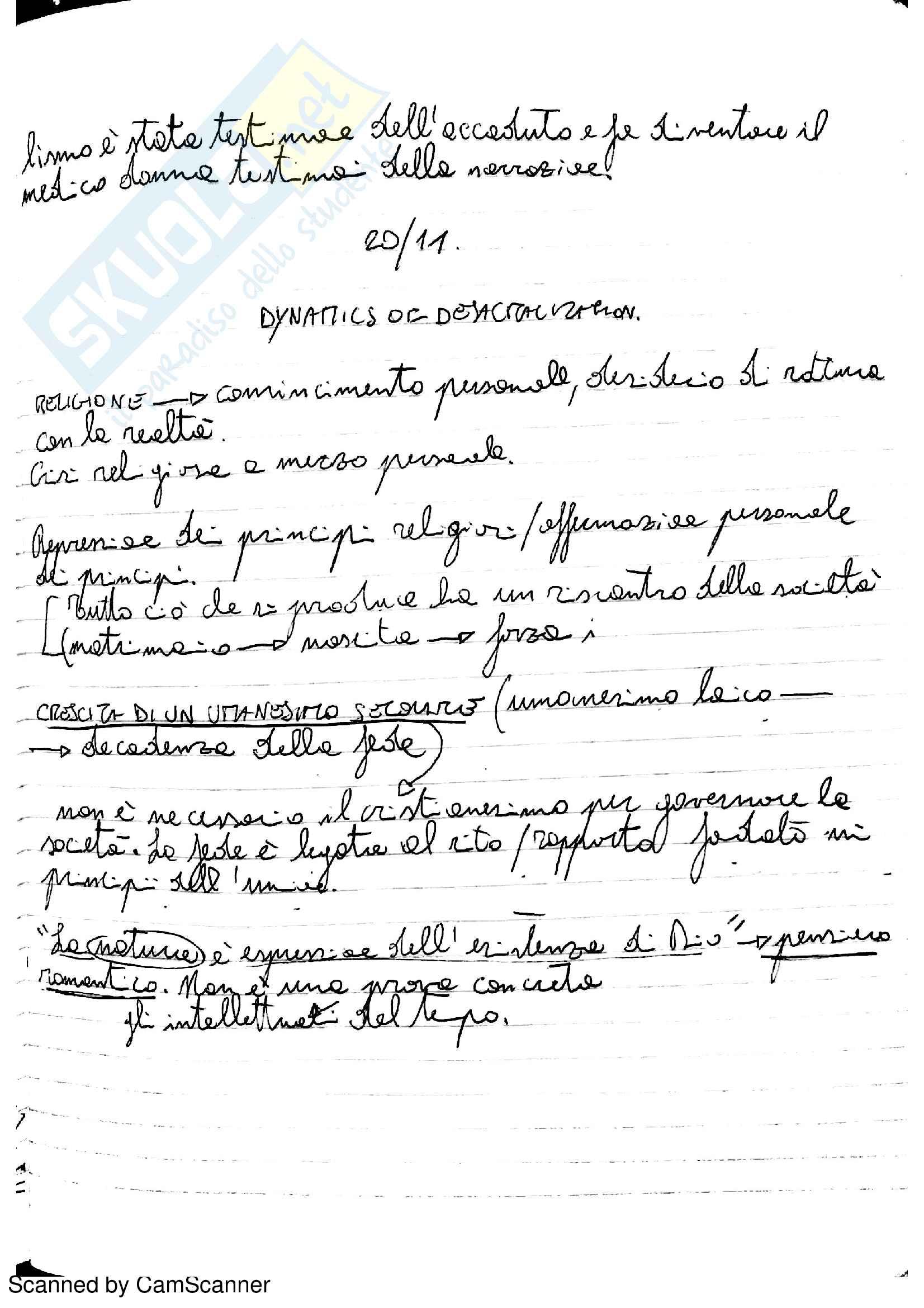 Riassunto esame Letteratura Inglese 2, prof. Partenza Pag. 21