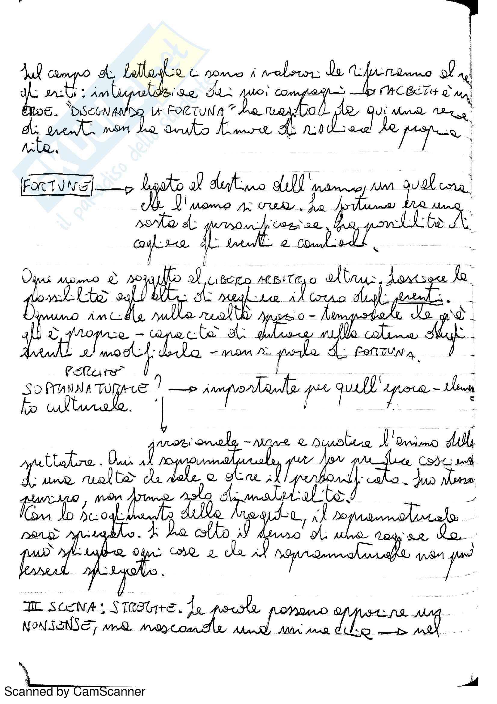 Riassunto esame Letteratura Inglese 2, prof. Partenza Pag. 6