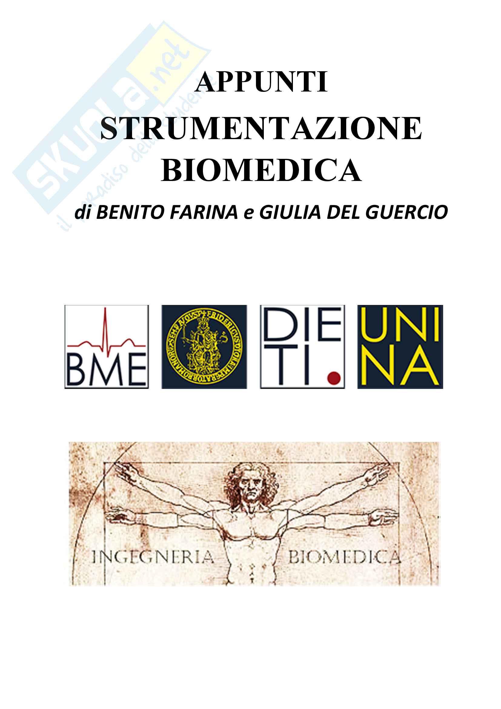 Appunti di Strumentazione biomedica