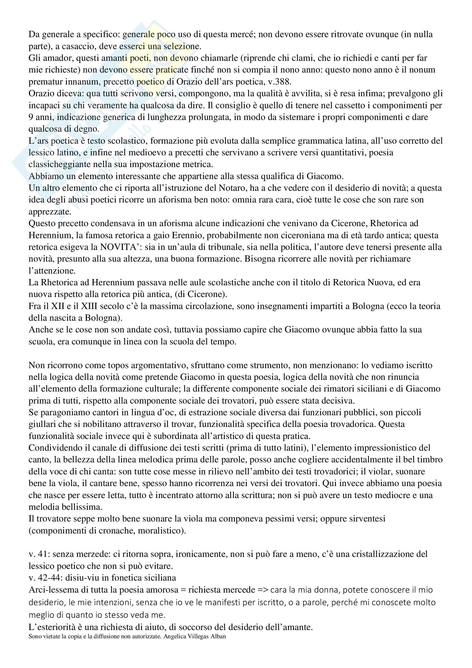 Letteratura Medievale Pag. 31