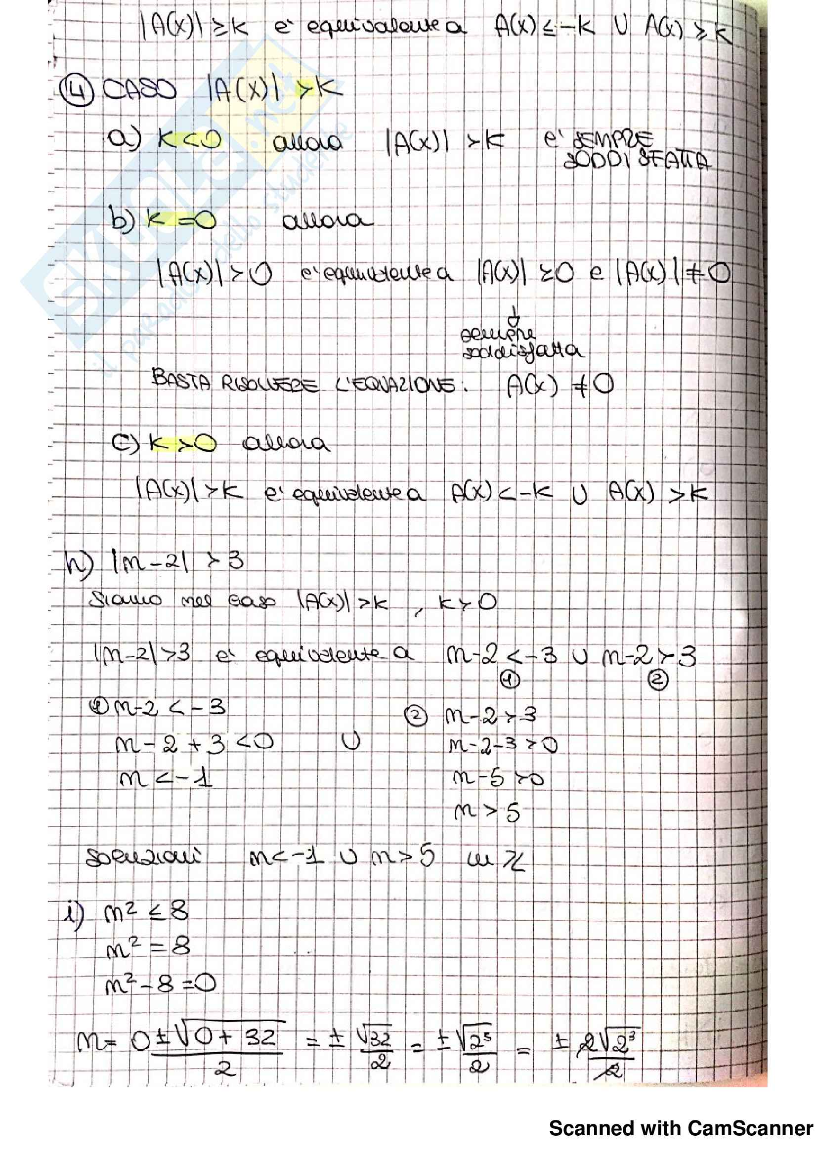 Esercizi Matematica per la formazione di base (I) Parte 2: Relazioni, Numeri interi Relativi, Divisione e divisibilità Pag. 21