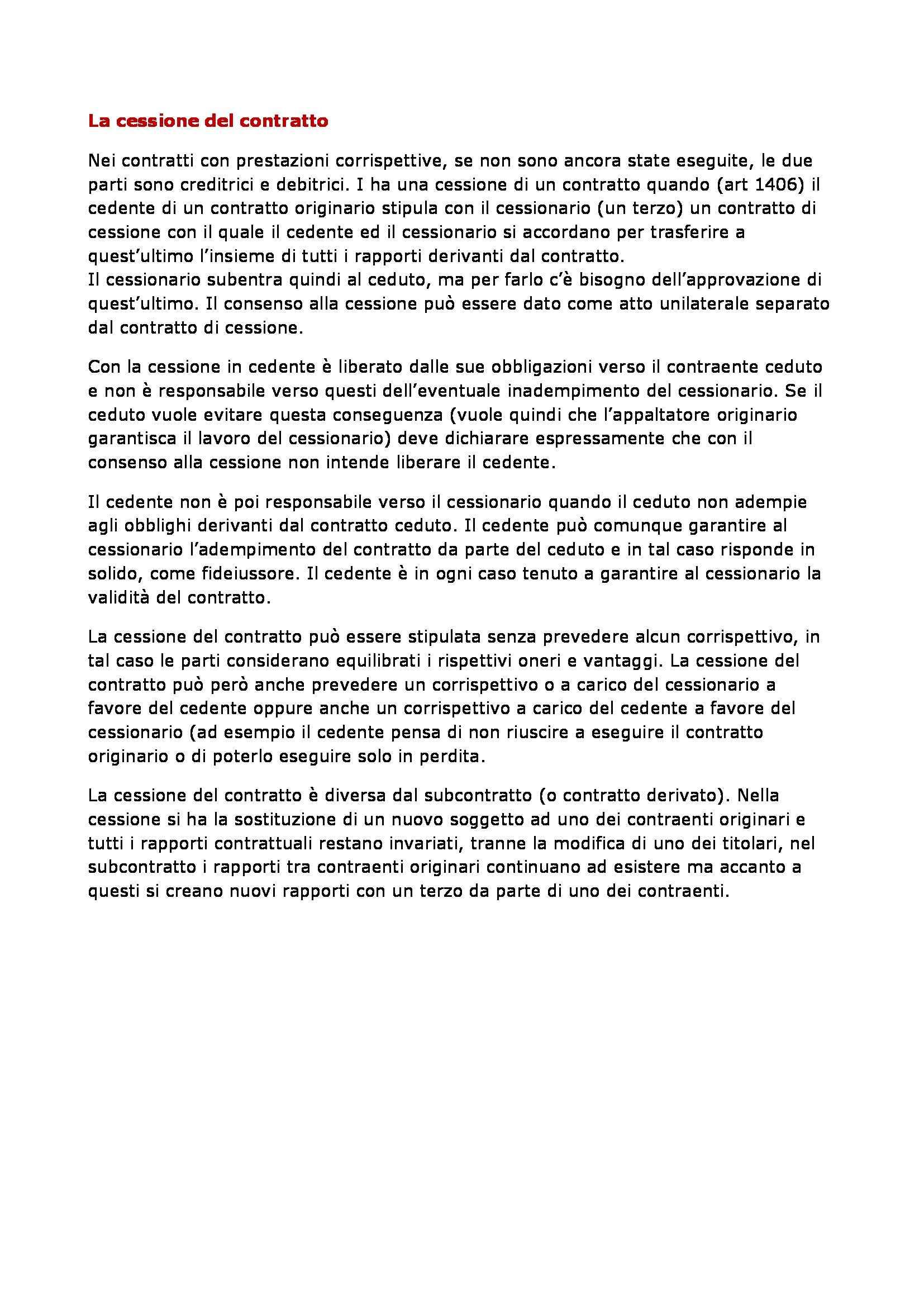 Diritto privato - contratti in generale Pag. 36