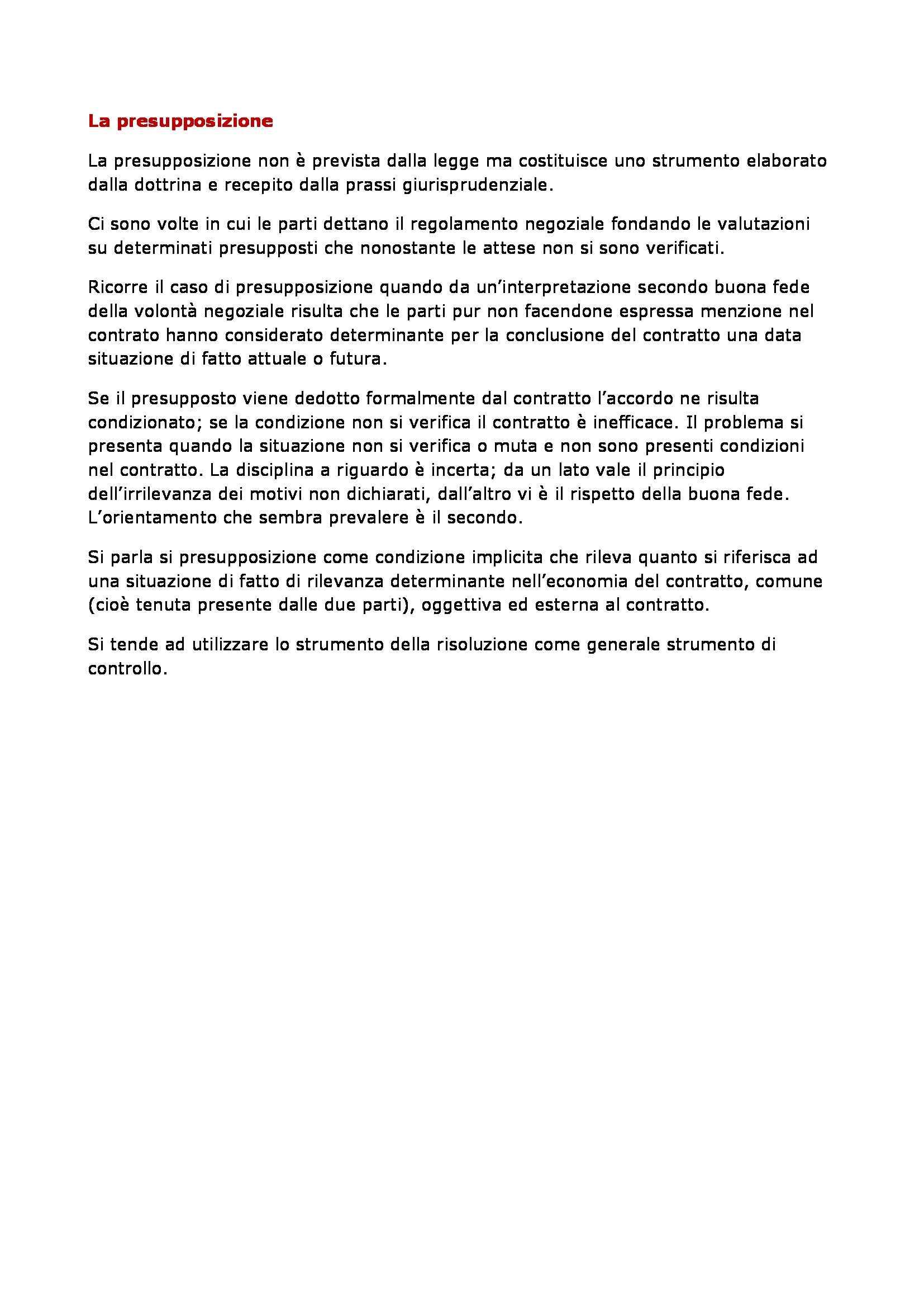 Diritto privato - contratti in generale Pag. 56