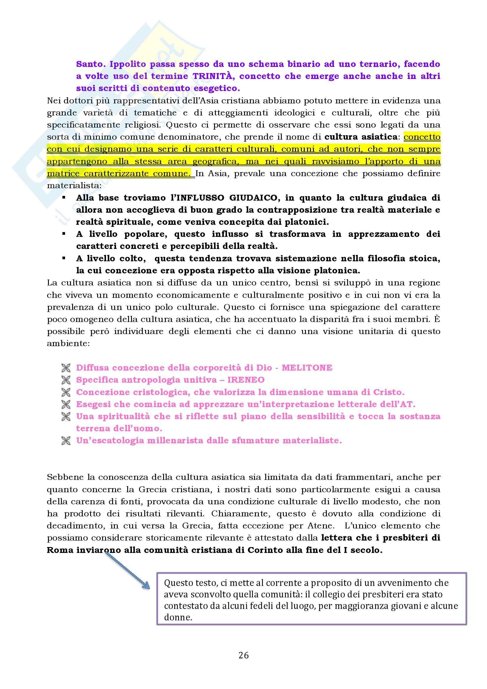 Riassunto esame Storia del Cristianesimo Antico e Medievale, prof. Colombi, libro consigliato Il Vangelo e la Storia, Simonetti Pag. 26