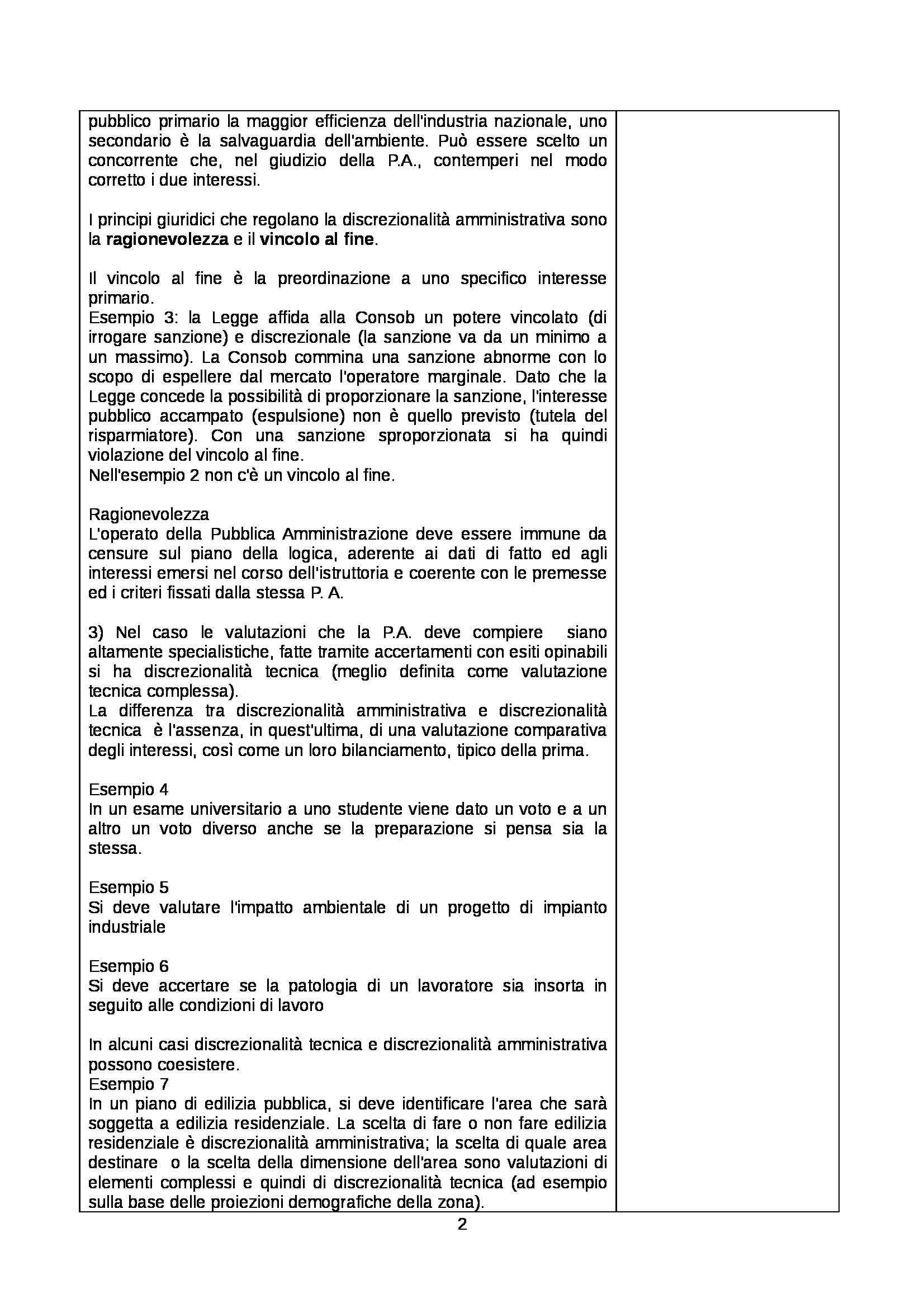 Diritto amministrativo - Appunti Pag. 2